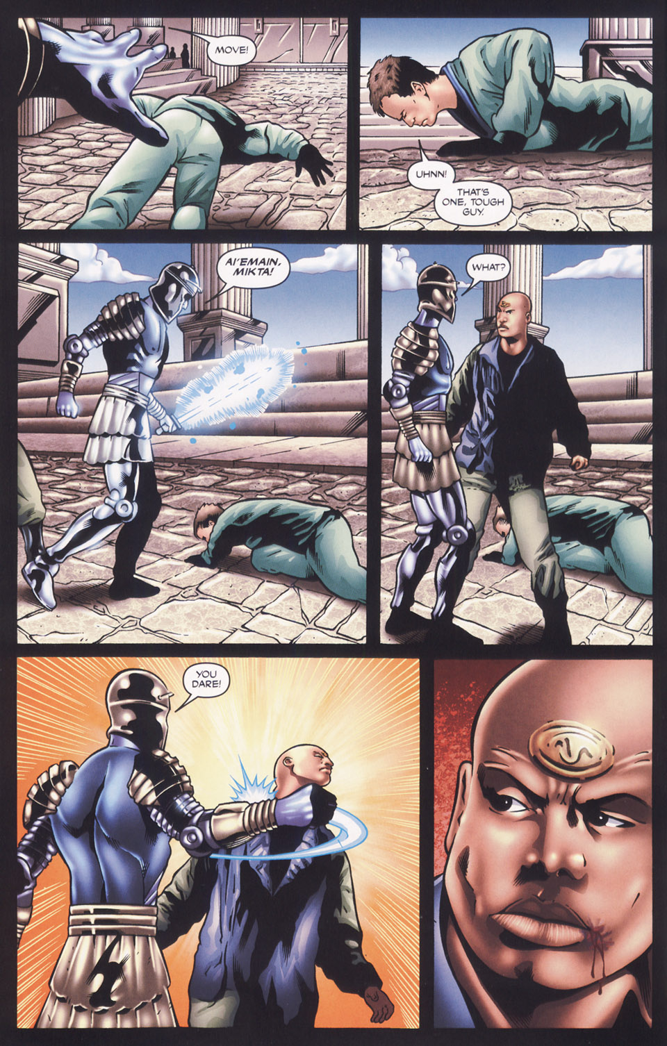 Read online Stargate SG-1: Fall of Rome comic -  Issue #2 - 4