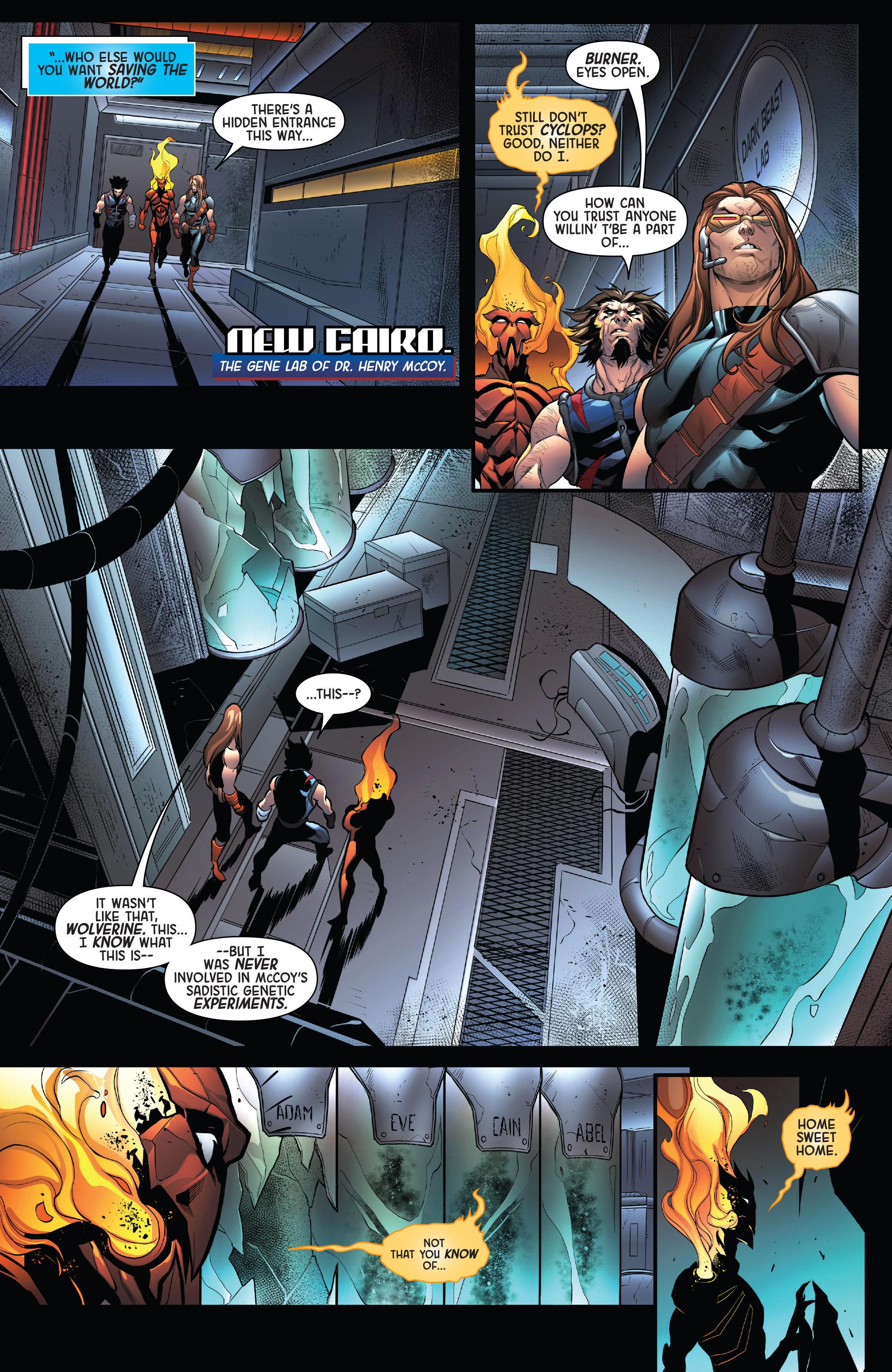Read online Age of Apocalypse (2015) comic -  Issue #4 - 7