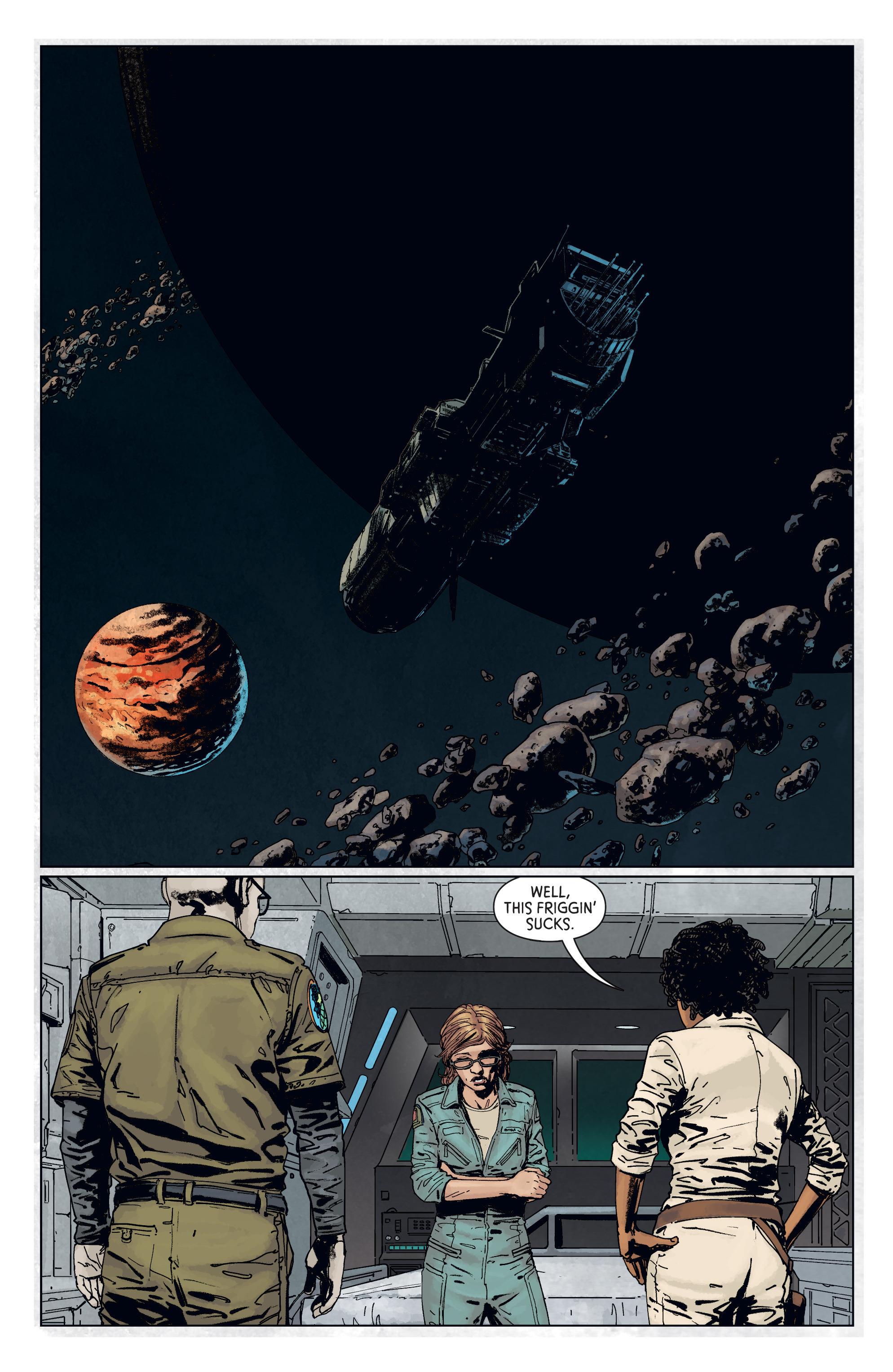Read online Aliens: Defiance comic -  Issue #7 - 3