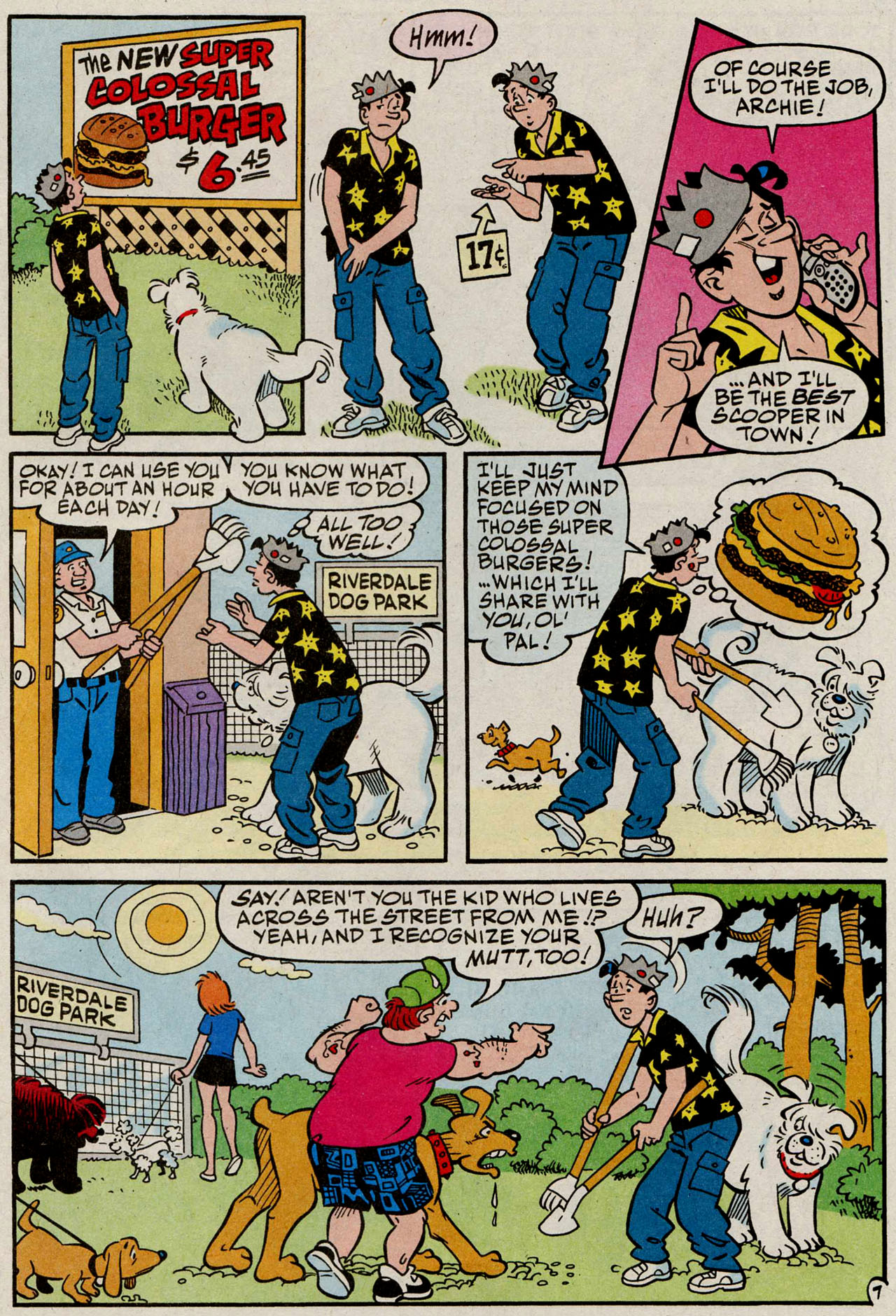 Read online Archie (1960) comic -  Issue #585 - 8