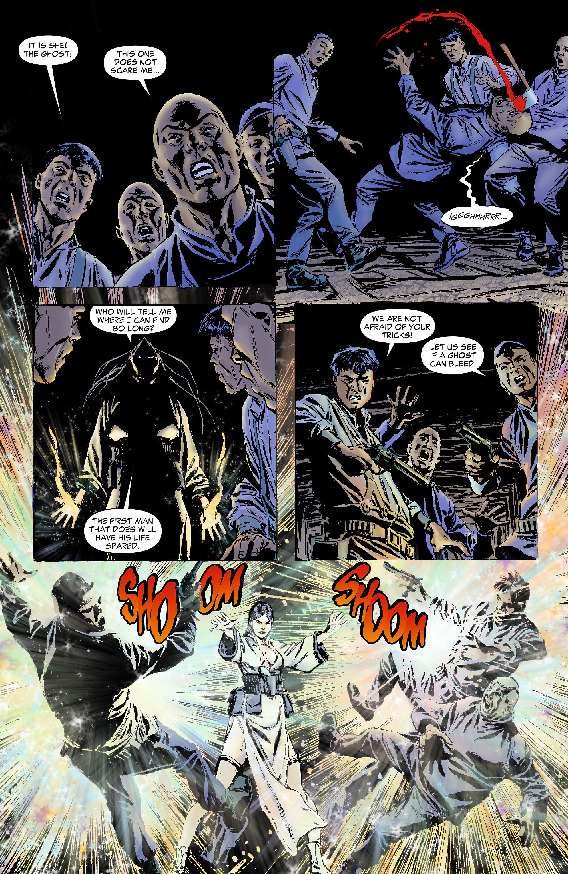 Read online All-Star Western (2011) comic -  Issue #4 - 22