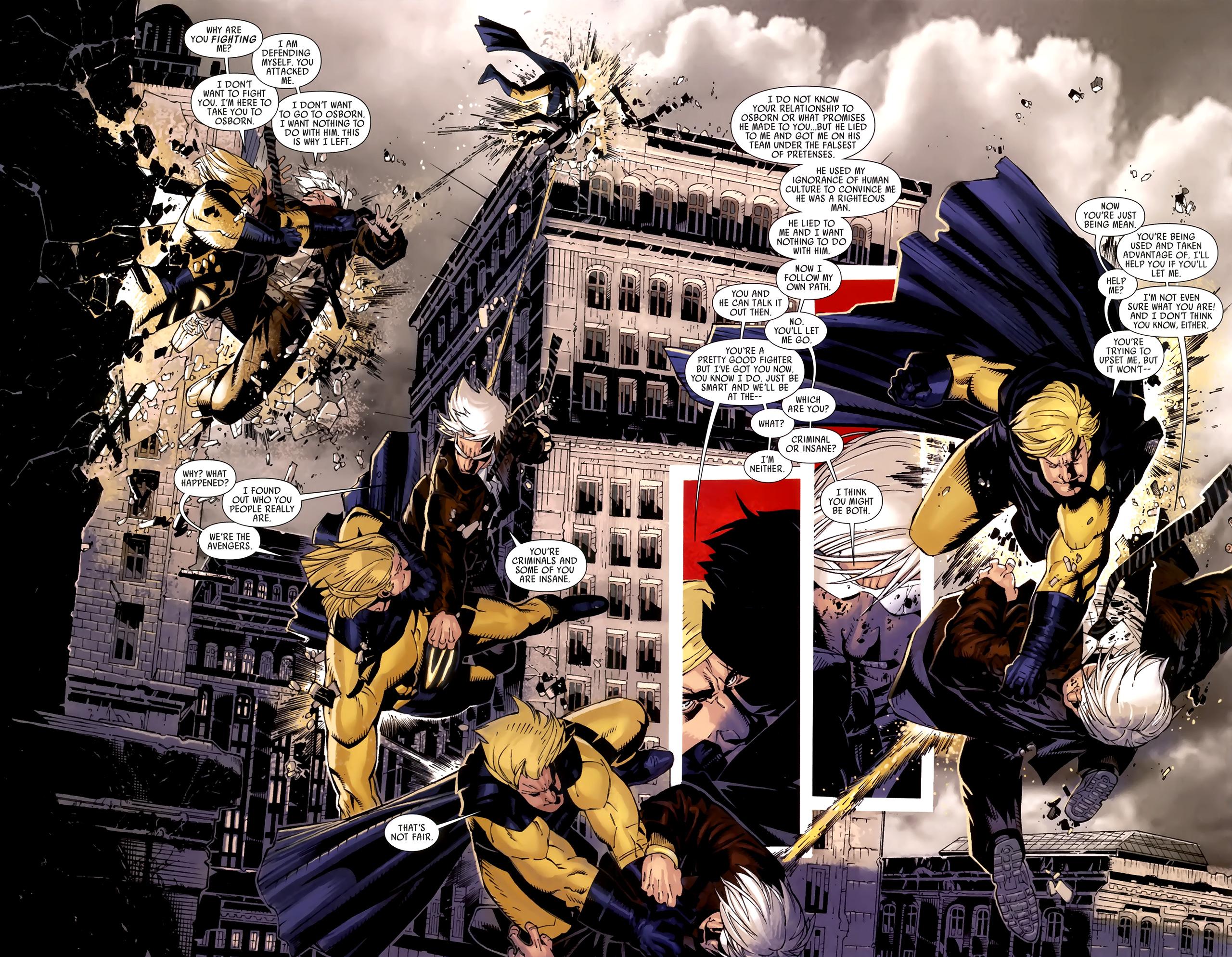 Read online Dark Avengers (2009) comic -  Issue # _Annual 1 - 14