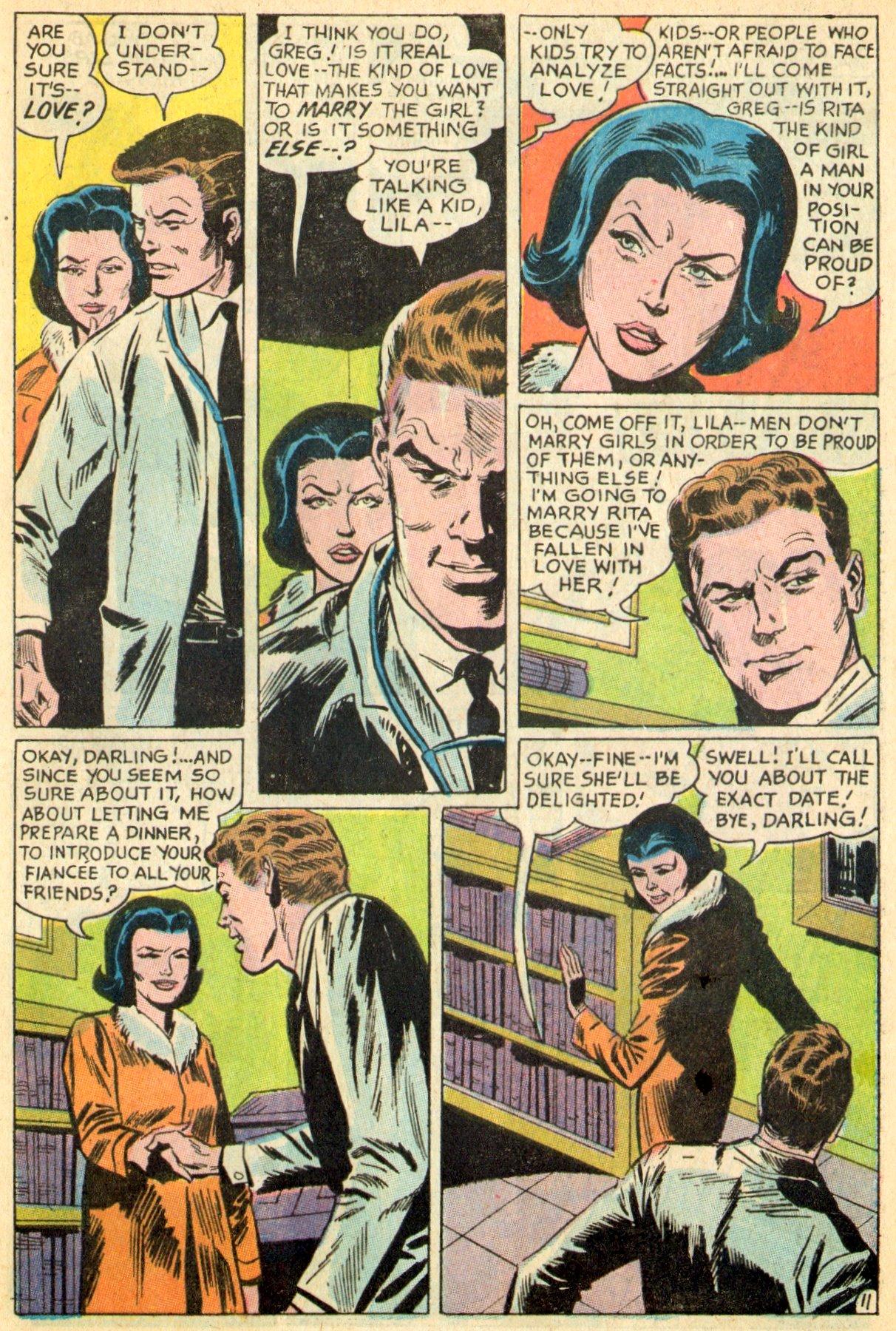 Read online Secret Hearts comic -  Issue #119 - 29