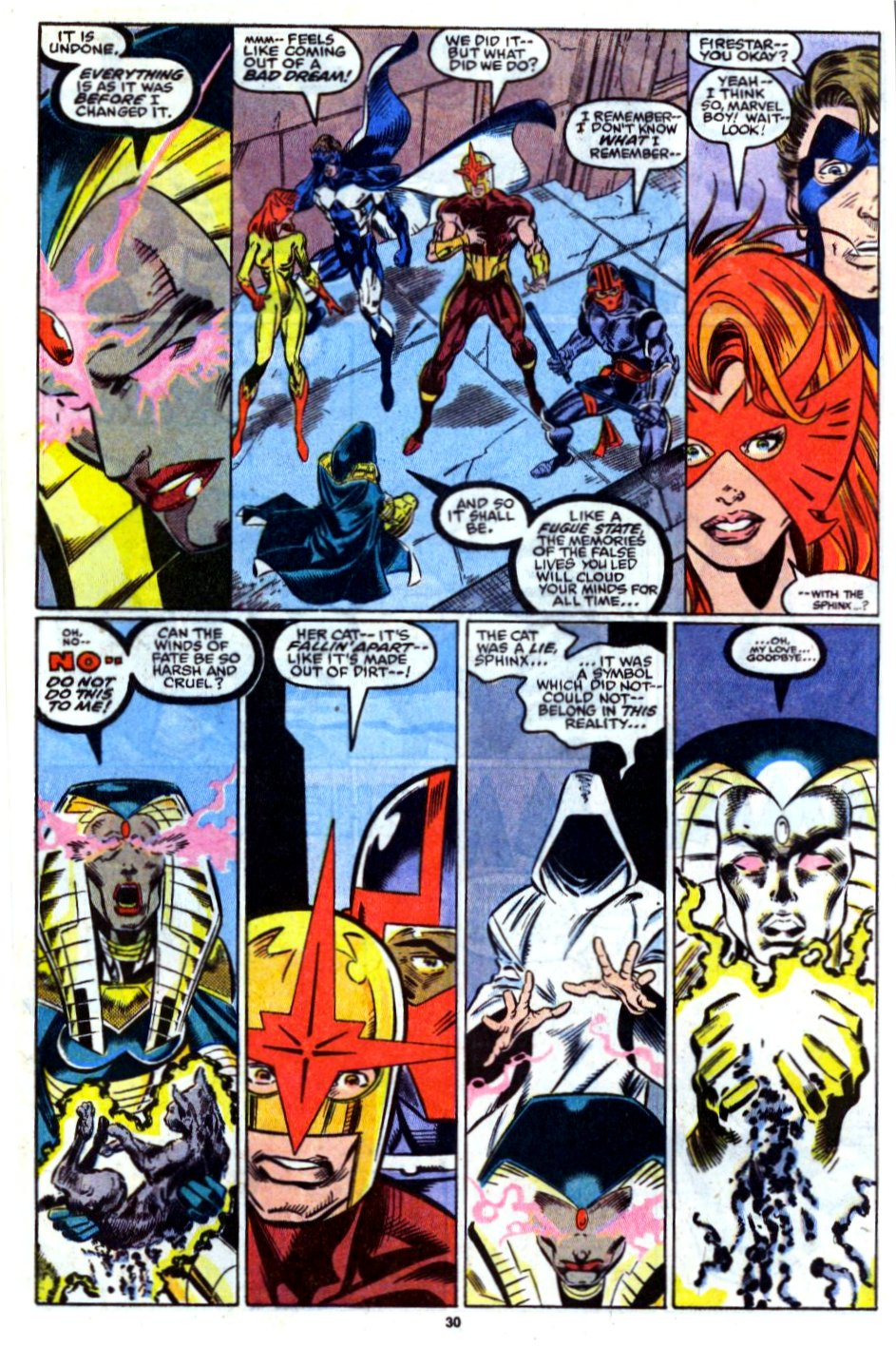 The New Warriors Issue #13 #17 - English 23