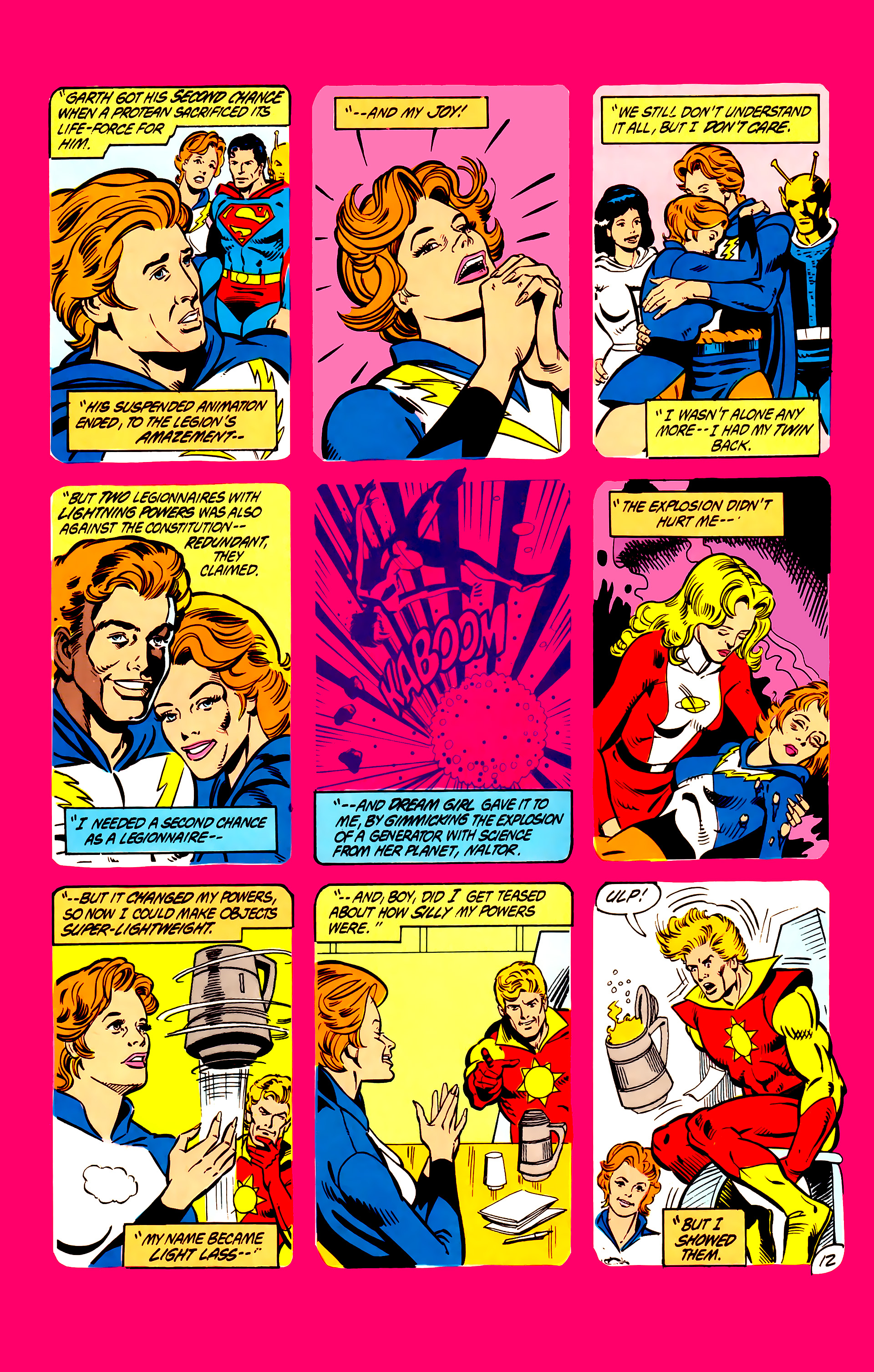 Legion of Super-Heroes (1984) 6 Page 12