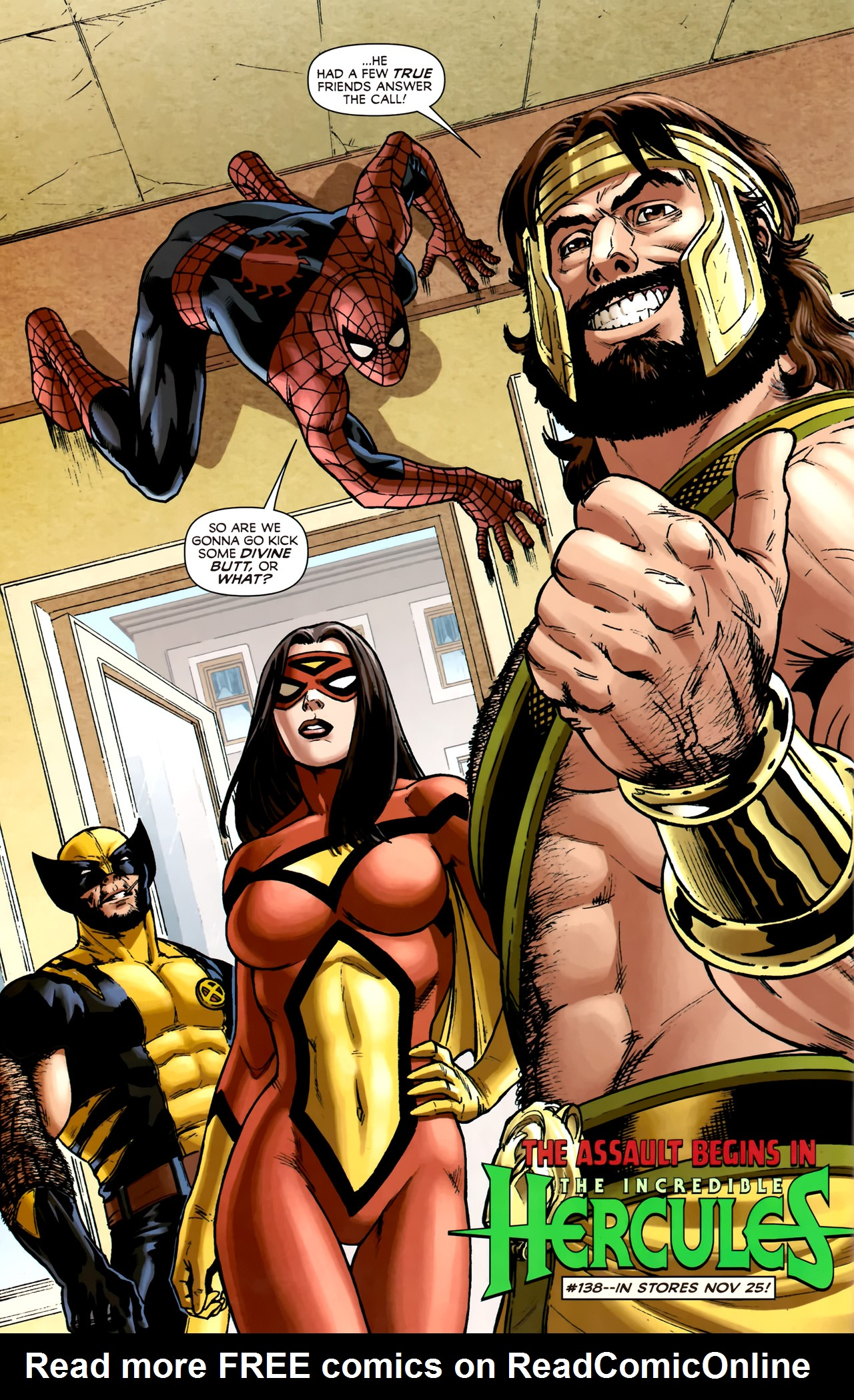 Read online Assault on New Olympus Prologue comic -  Issue #Assault on New Olympus Prologue Full - 33