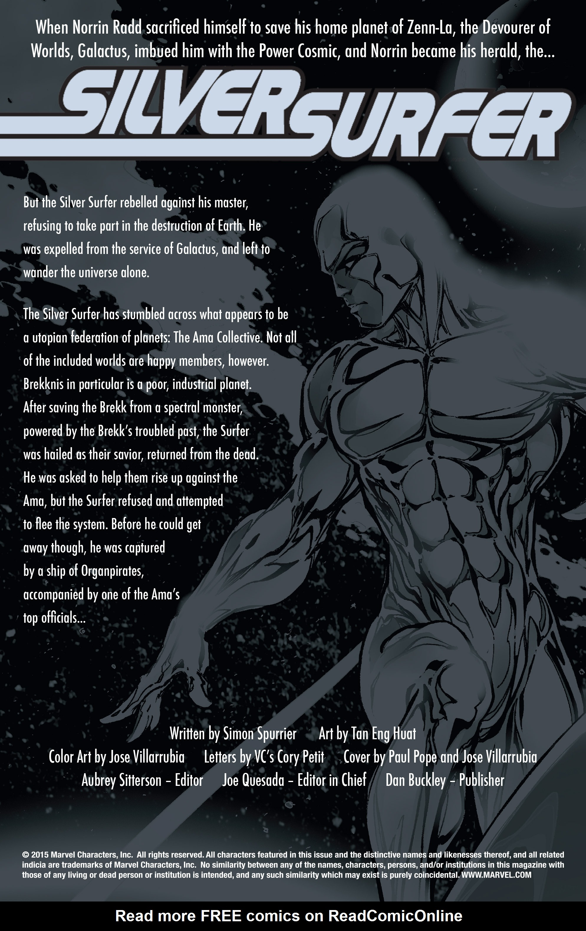 Read online Silver Surfer: In Thy Name comic -  Issue #3 - 2