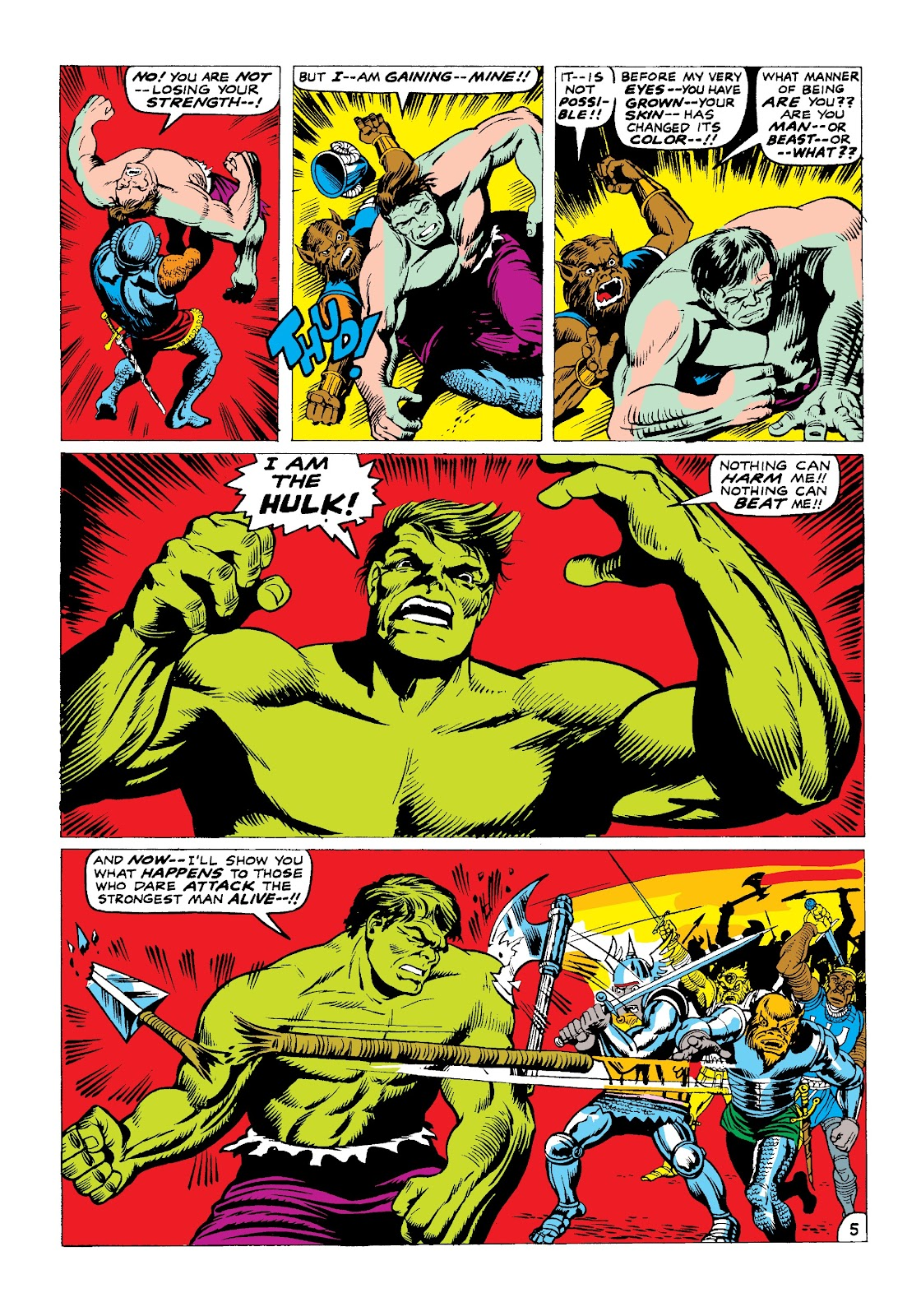 Read online Marvel Masterworks: The Incredible Hulk comic -  Issue # TPB 3 (Part 2) - 88