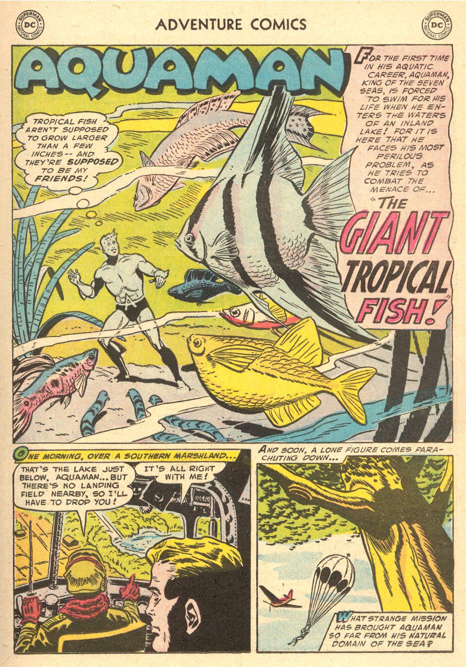 Read online Adventure Comics (1938) comic -  Issue #212 - 17
