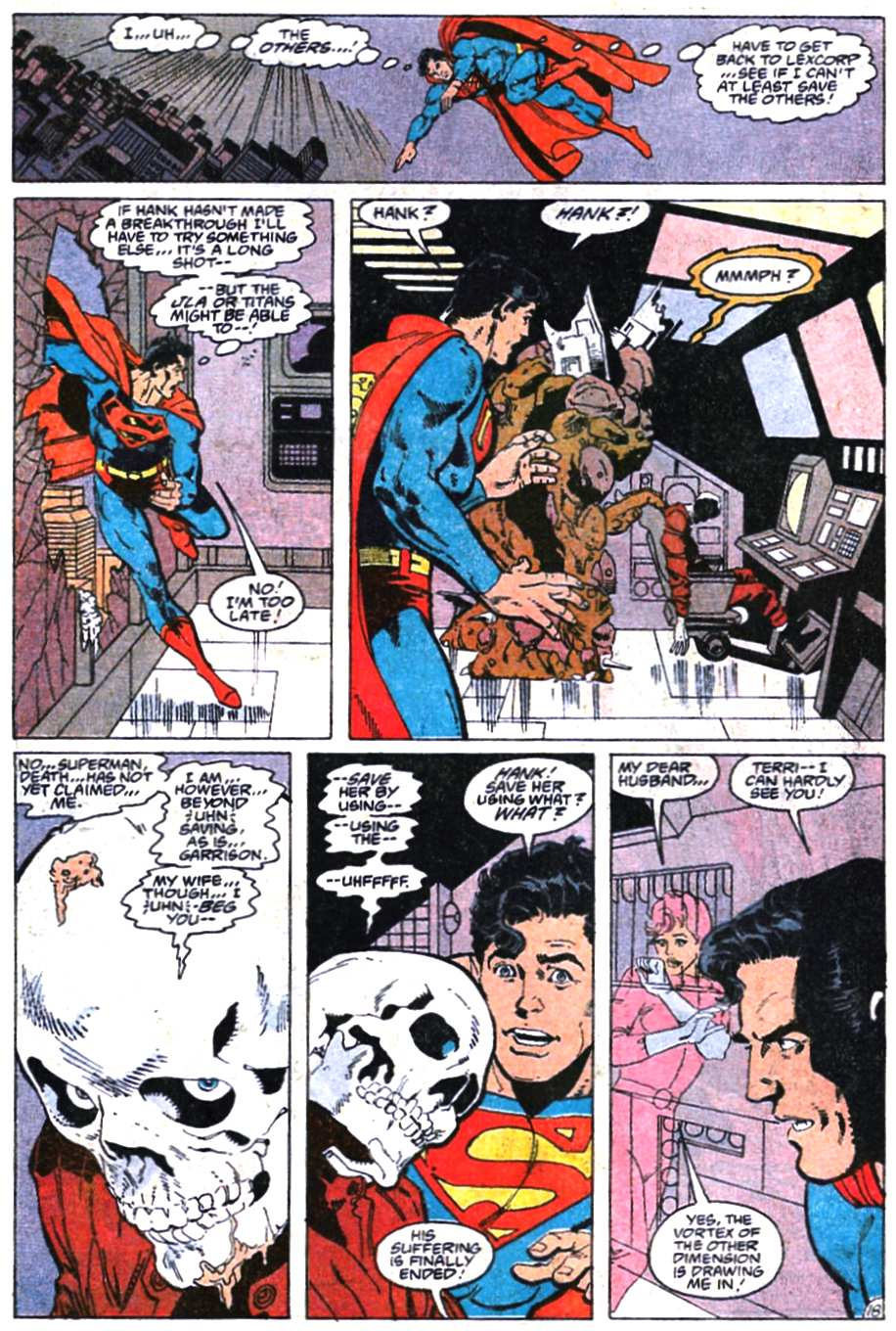 Read online Adventures of Superman (1987) comic -  Issue #466 - 19