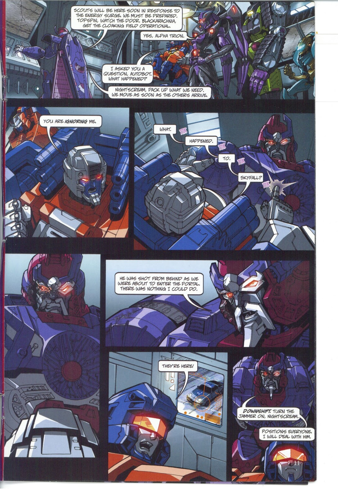 Read online Transformers: Collectors' Club comic -  Issue #25 - 11