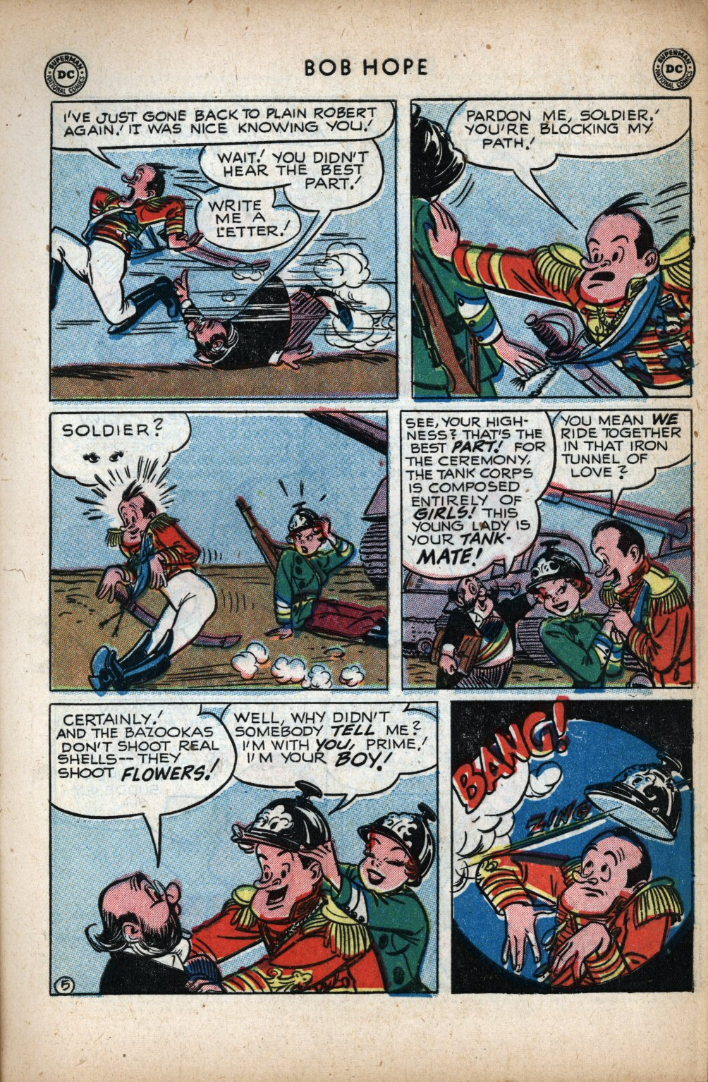 The Adventures of Bob Hope issue 11 - Page 7