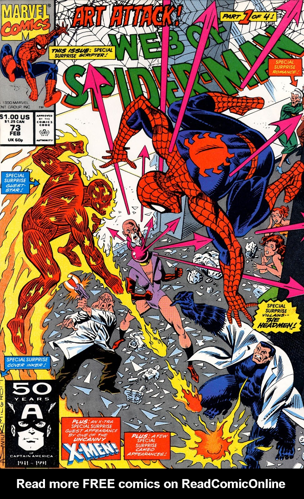 Web of Spider-Man (1985) 73 Page 1