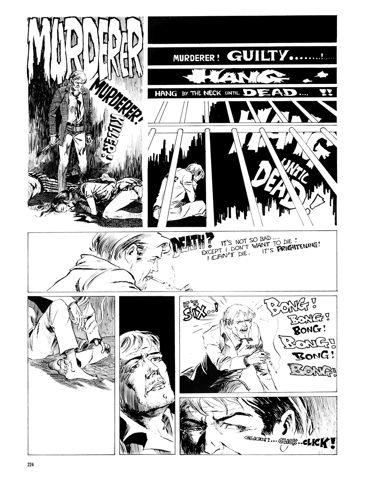 Read online Eerie Archives comic -  Issue # TPB 8 - 225