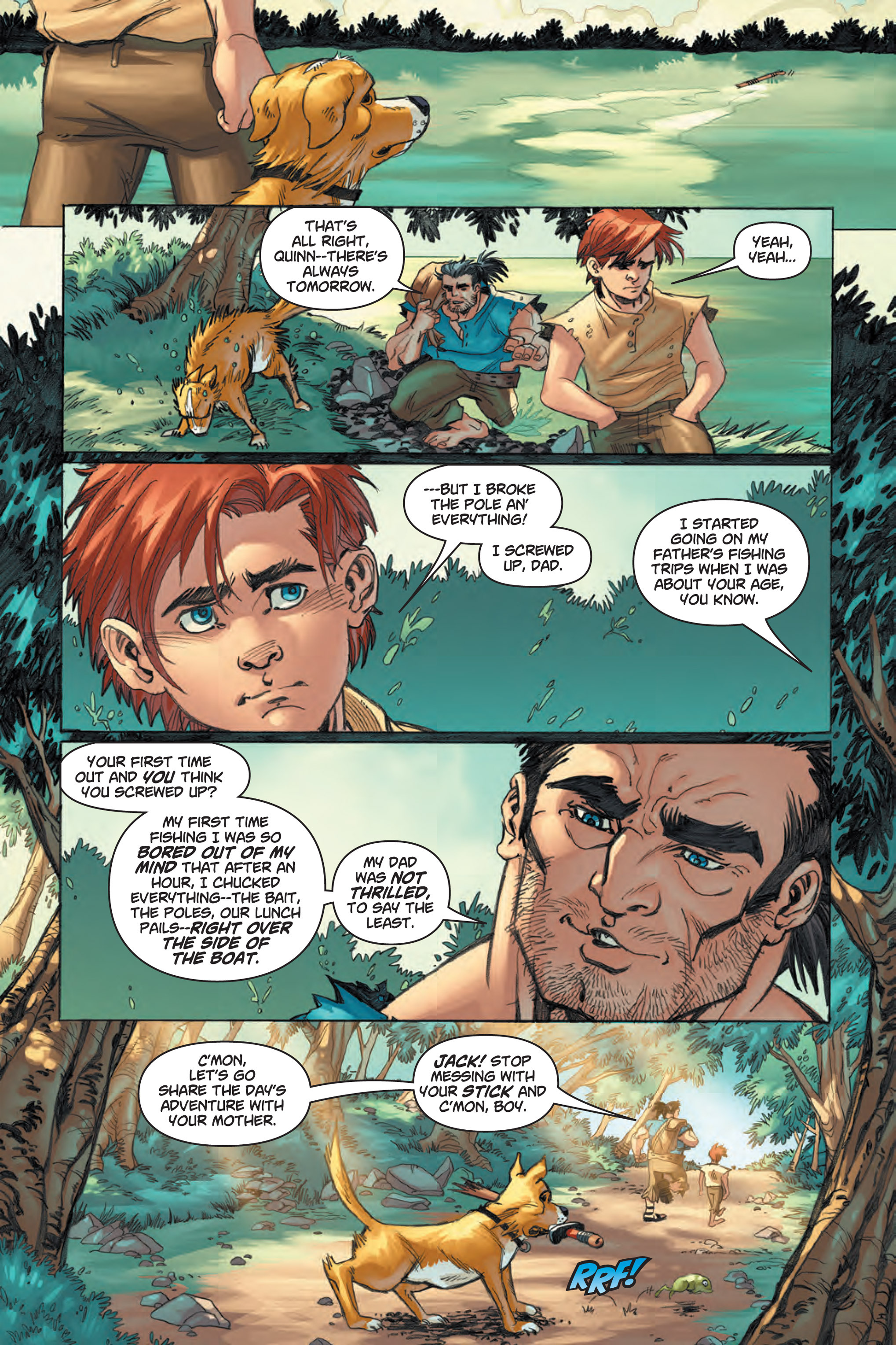 Read online Skyward comic -  Issue #1 - 6
