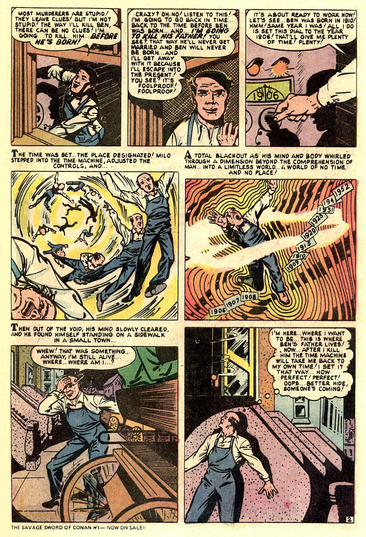 Read online Adventures into Weird Worlds comic -  Issue #5 - 19