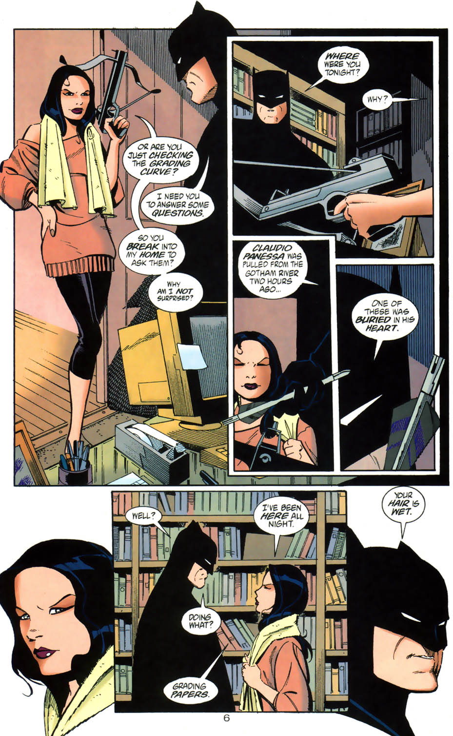 Read online Batman/Huntress: Cry for Blood comic -  Issue #1 - 6