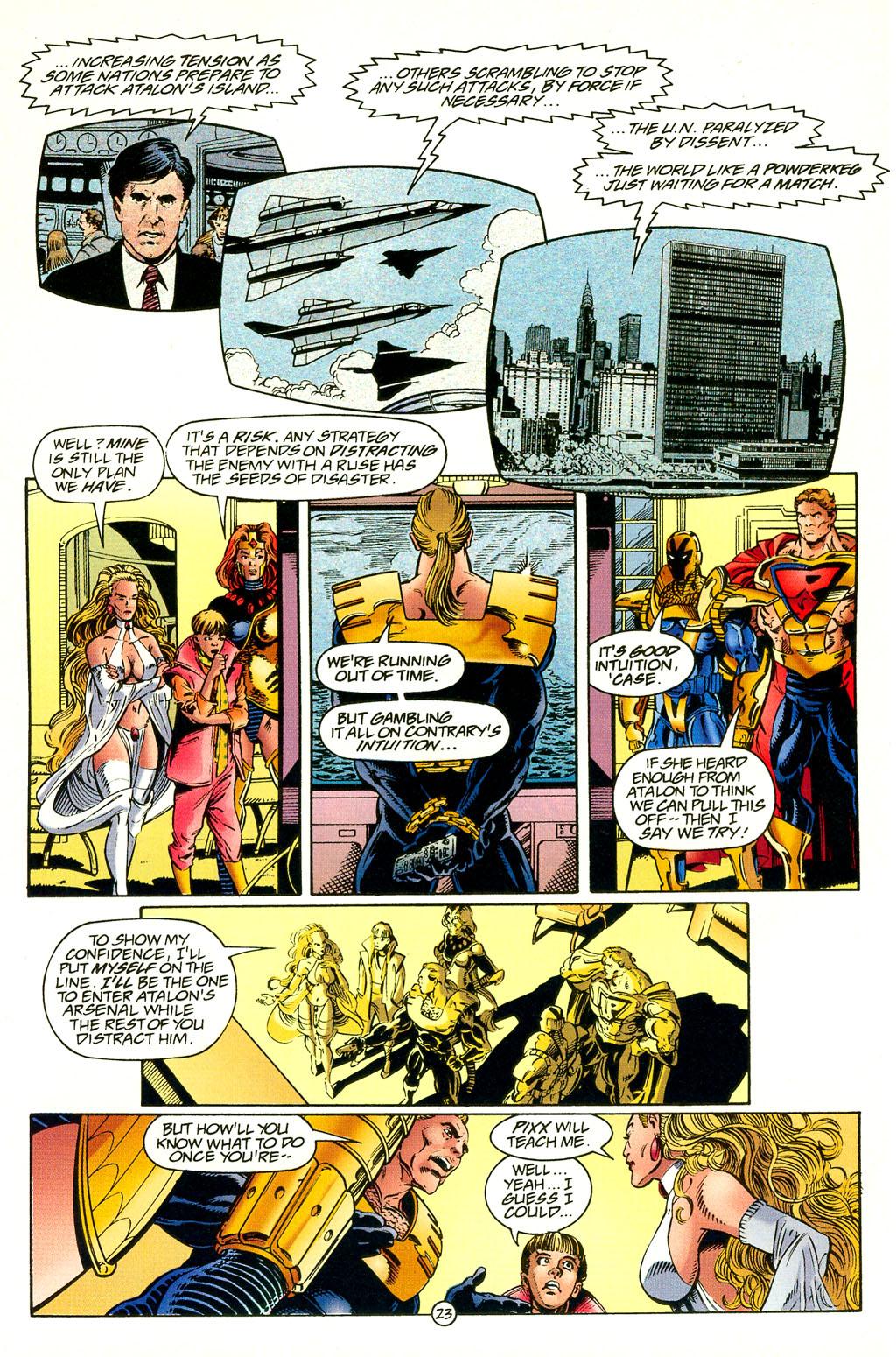 Read online UltraForce (1994) comic -  Issue #4 - 23
