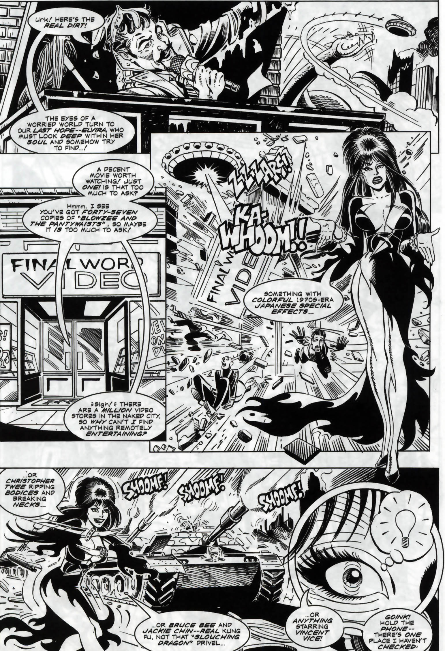 Read online Elvira, Mistress of the Dark comic -  Issue #118 - 22