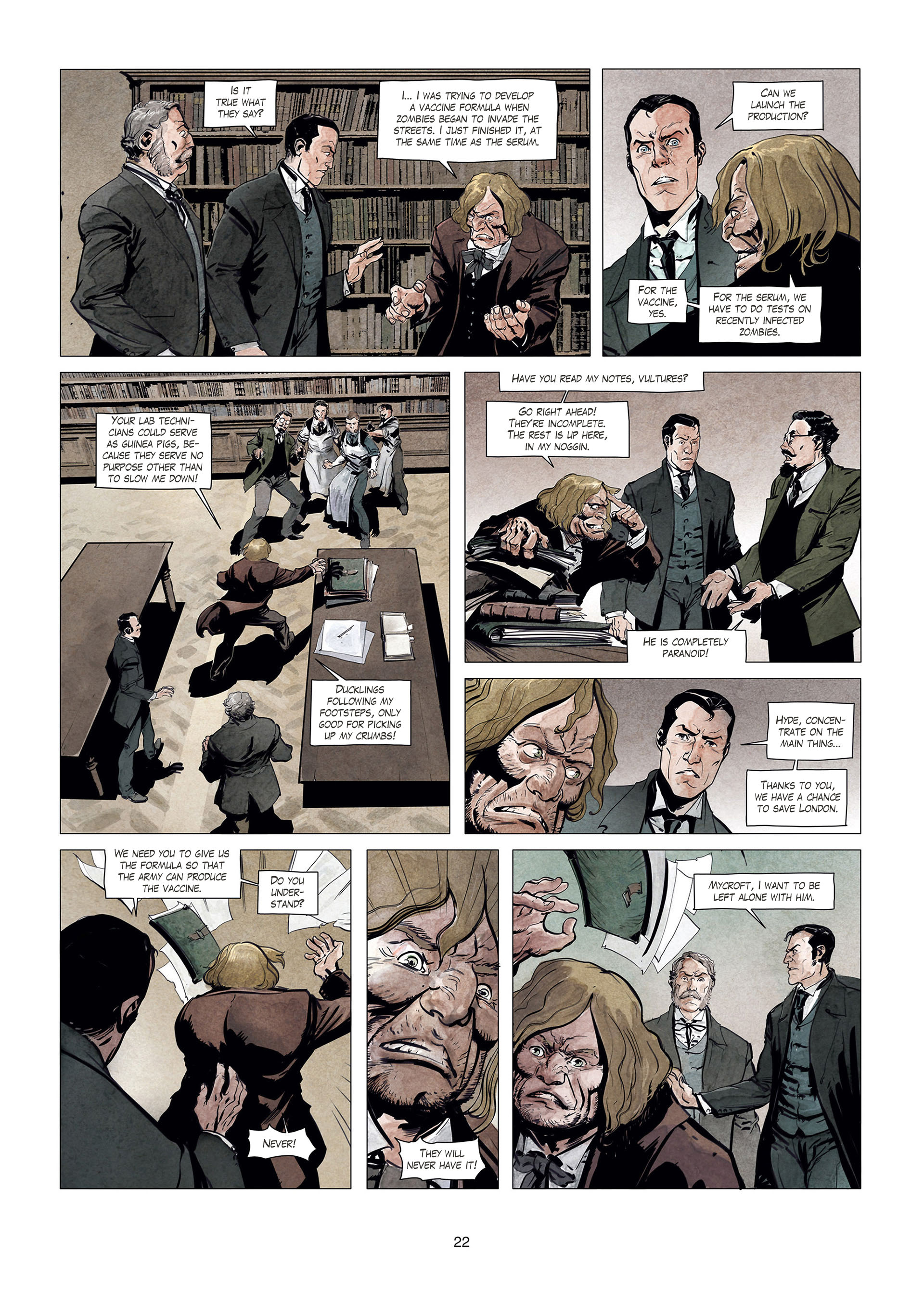 Read online Sherlock Holmes Society Tome 4 : Contamination comic -  Issue # Full - 22