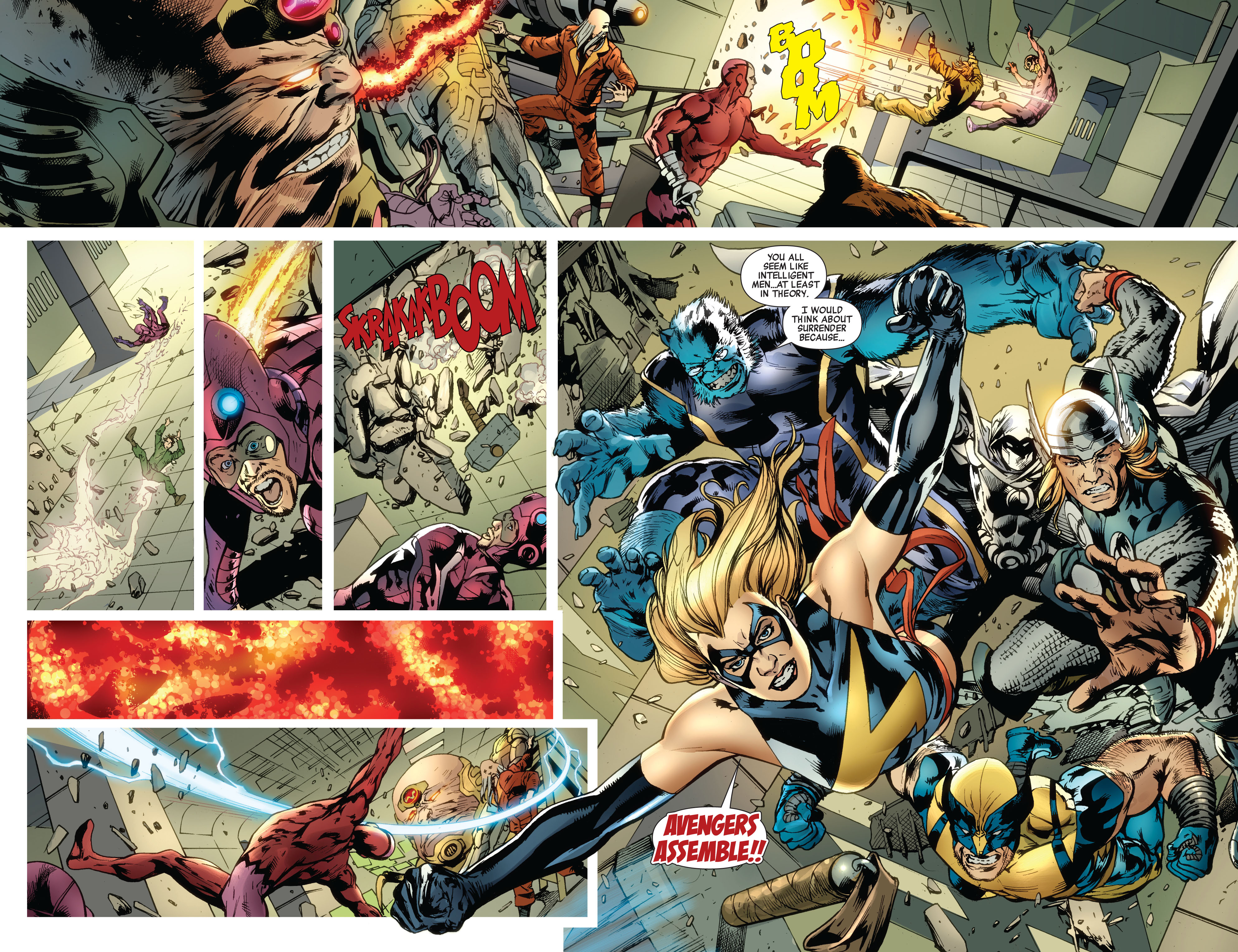 Read online Avengers (2010) comic -  Issue #12.1 - 18