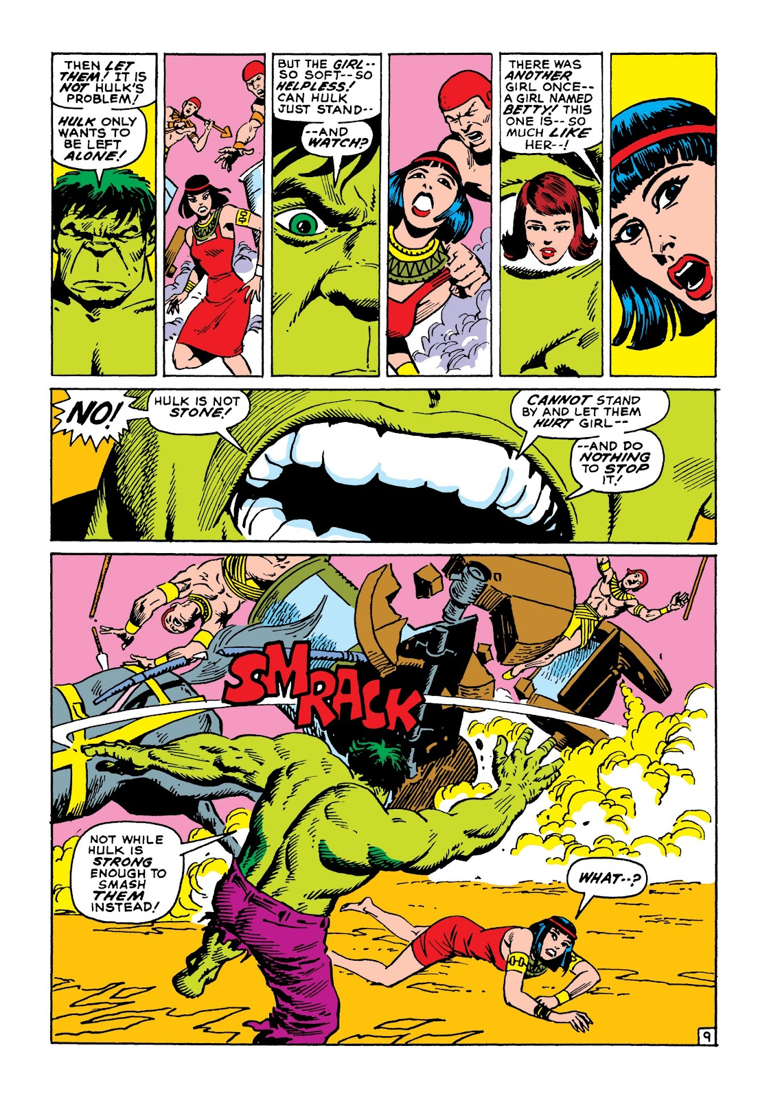 Read online Marvel Masterworks: The Incredible Hulk comic -  Issue # TPB 8 (Part 1) - 16