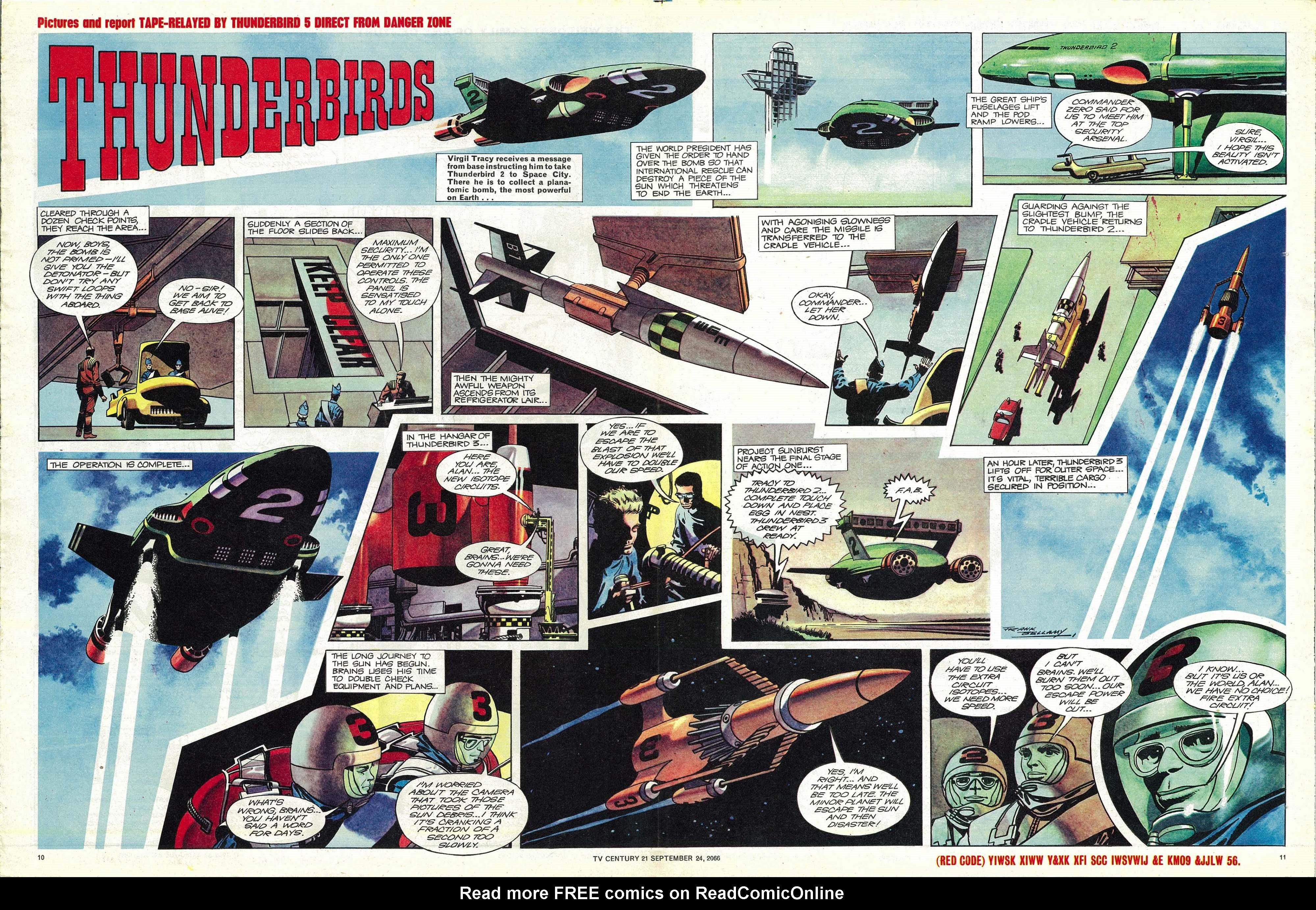 Read online TV Century 21 (TV 21) comic -  Issue #88 - 10