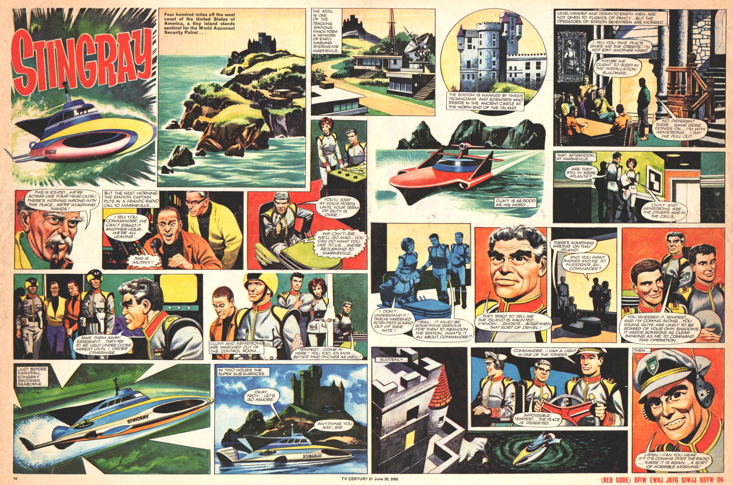 Read online TV Century 21 (TV 21) comic -  Issue #23 - 10