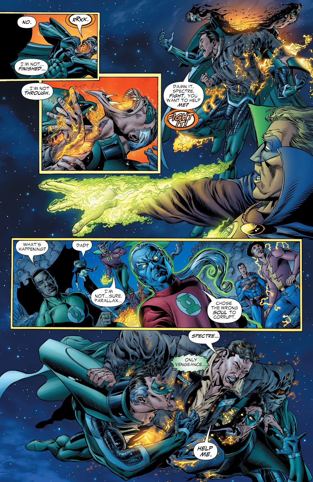 Read online Green Lantern by Geoff Johns comic -  Issue # TPB 1 (Part 2) - 5