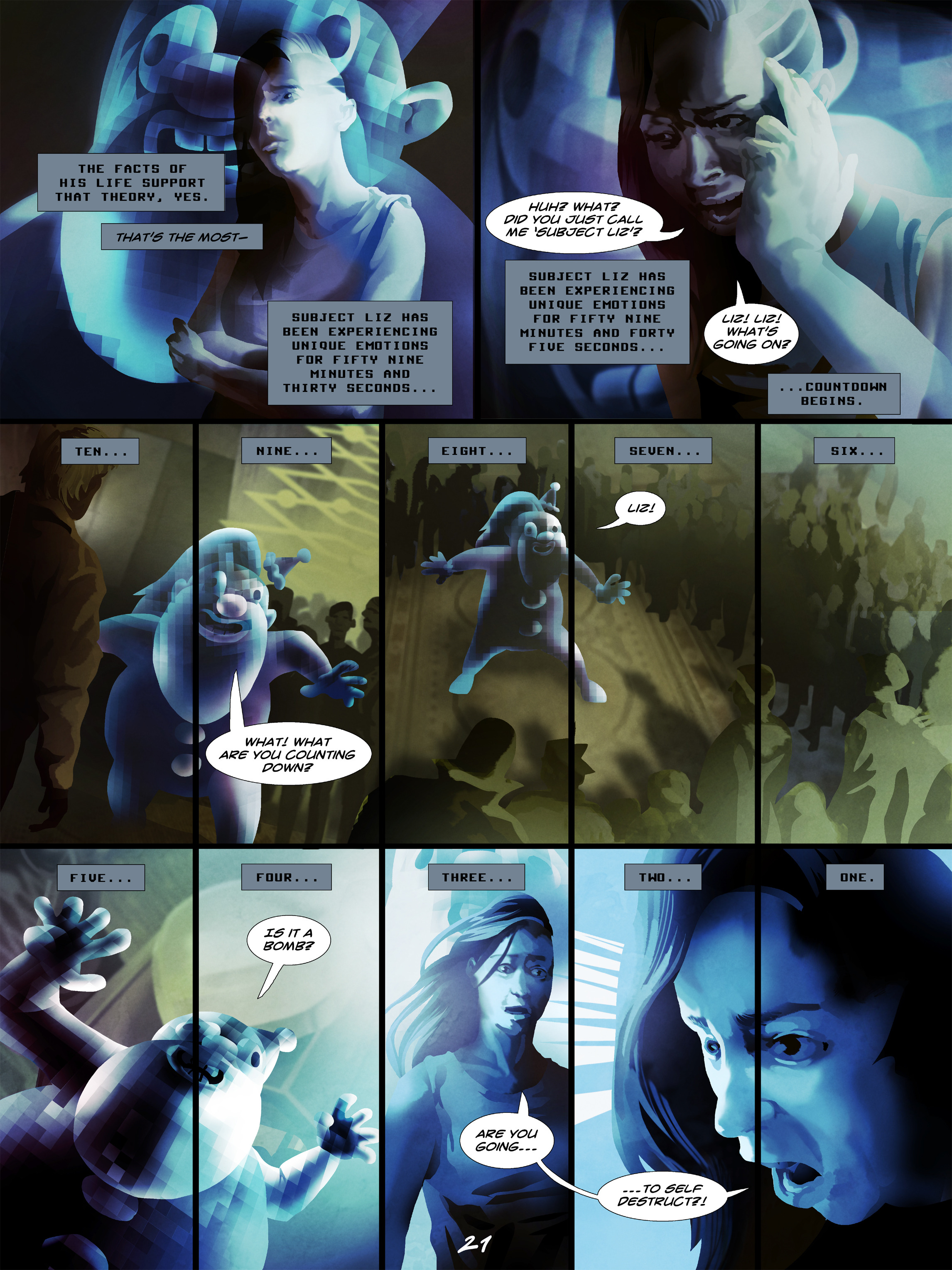 Read online Wynter comic -  Issue #5 - 22