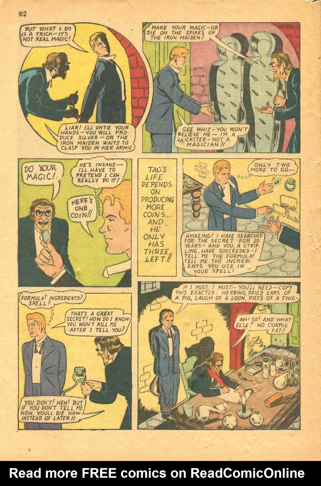 Read online Super-Magician Comics comic -  Issue #18 - 61