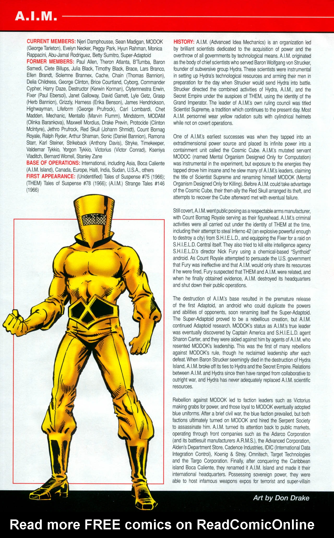 Read online All-New Official Handbook of the Marvel Universe A to Z: Update comic -  Issue #2 - 4
