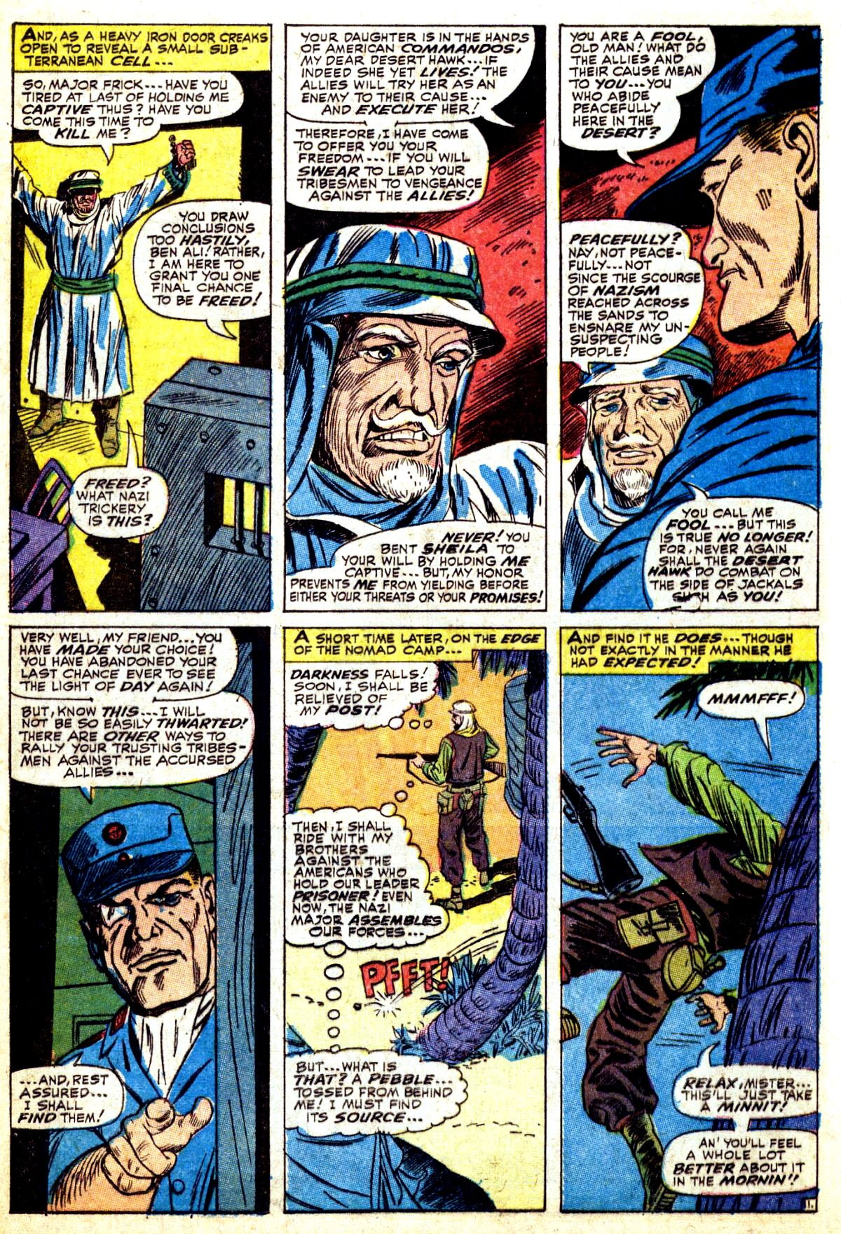 Read online Sgt. Fury comic -  Issue #37 - 16
