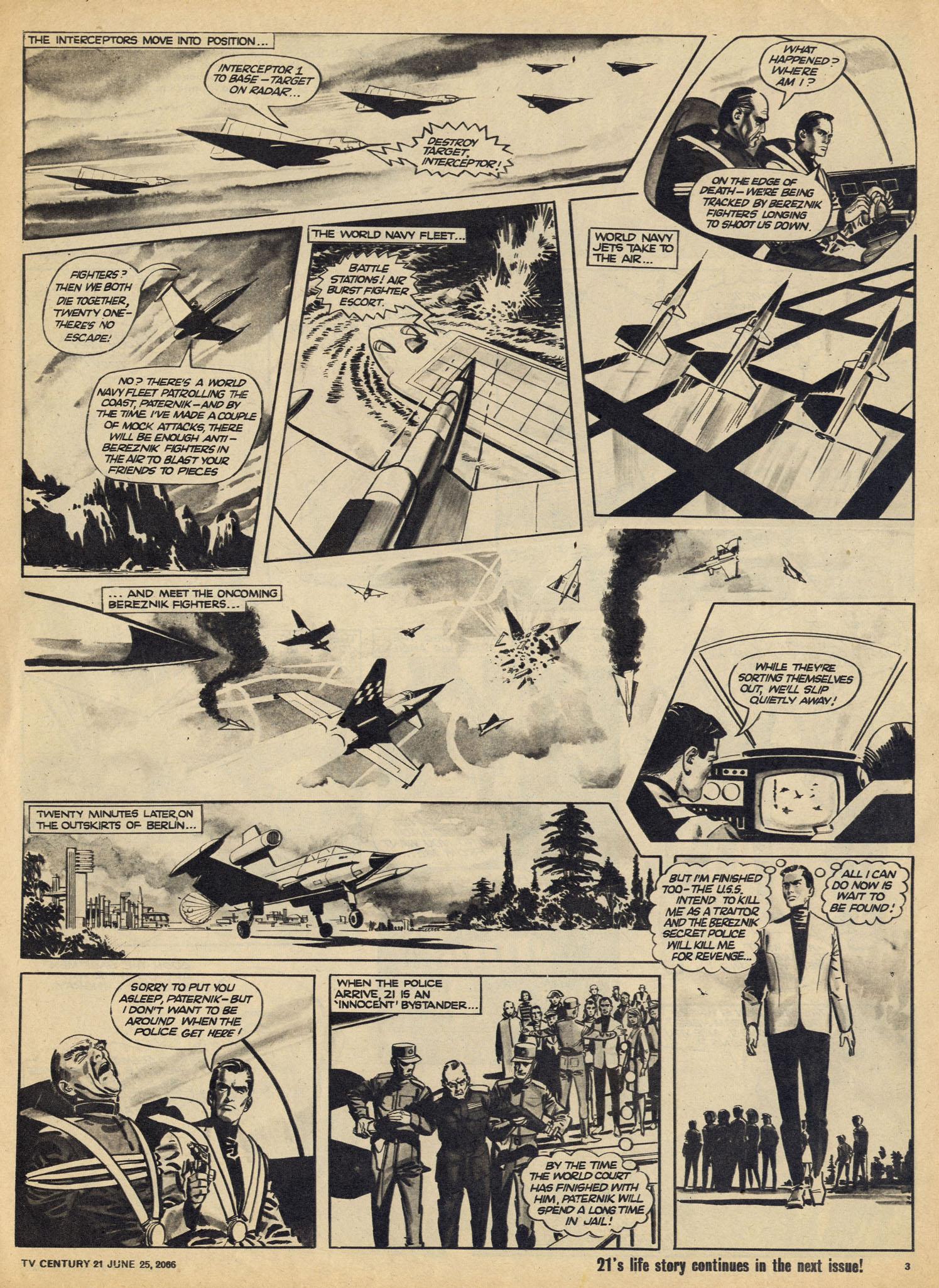 Read online TV Century 21 (TV 21) comic -  Issue #75 - 3