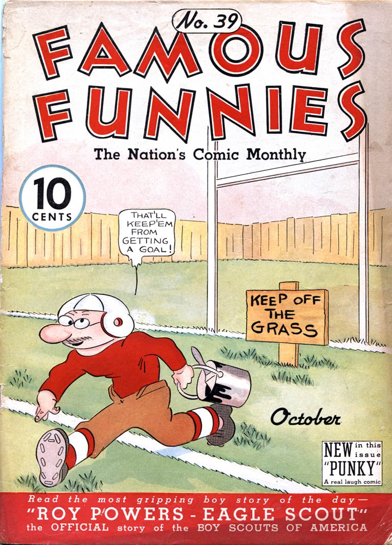 Read online Famous Funnies comic -  Issue #39 - 1