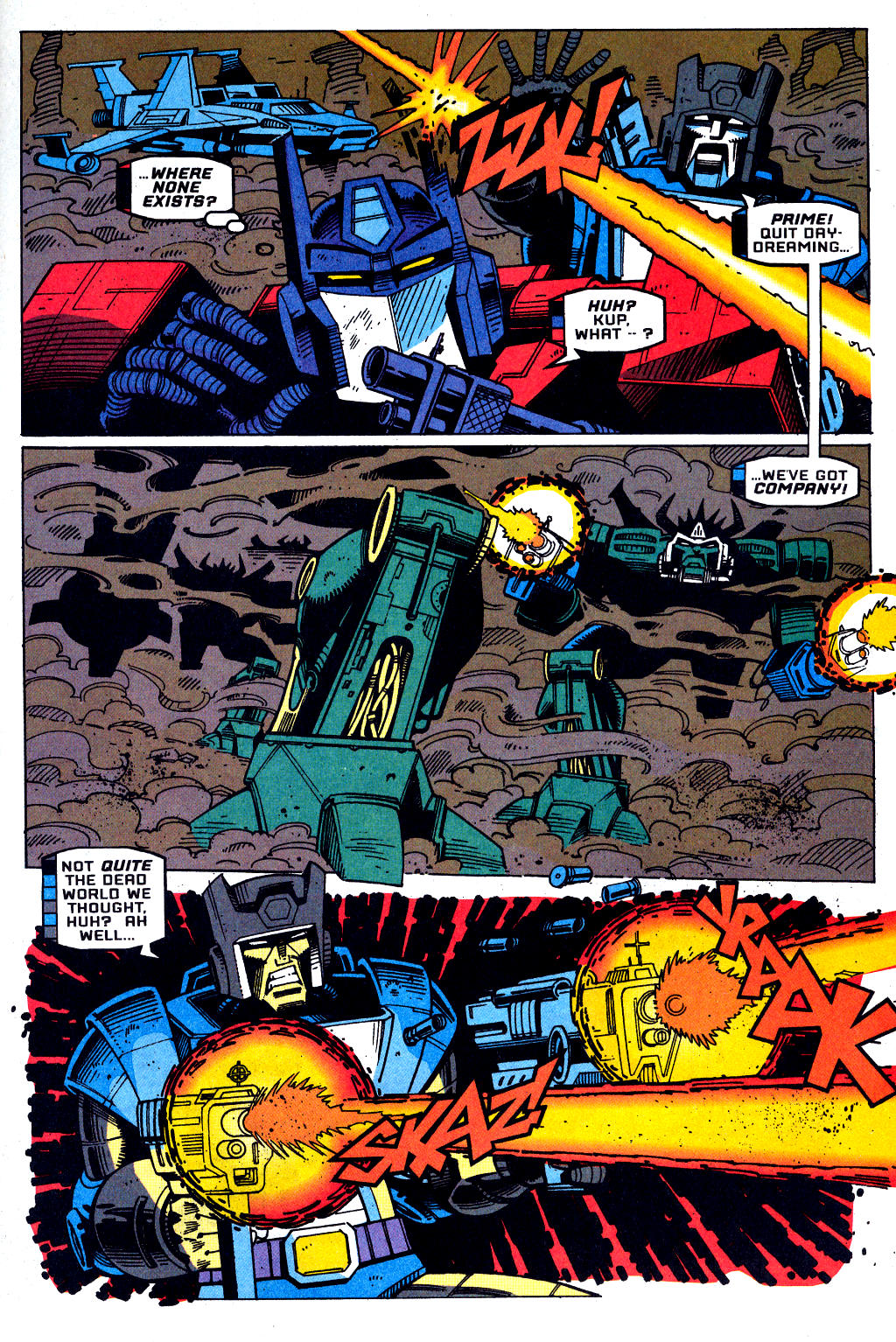 Read online Transformers: Generation 2 comic -  Issue #1 - 17