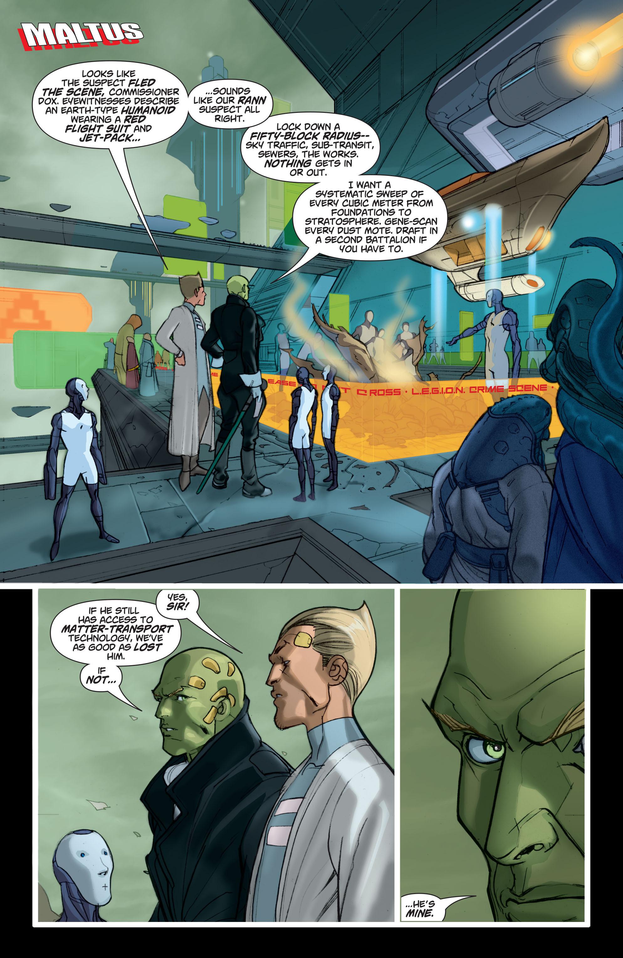 Read online Adam Strange (2004) comic -  Issue #6 - 2
