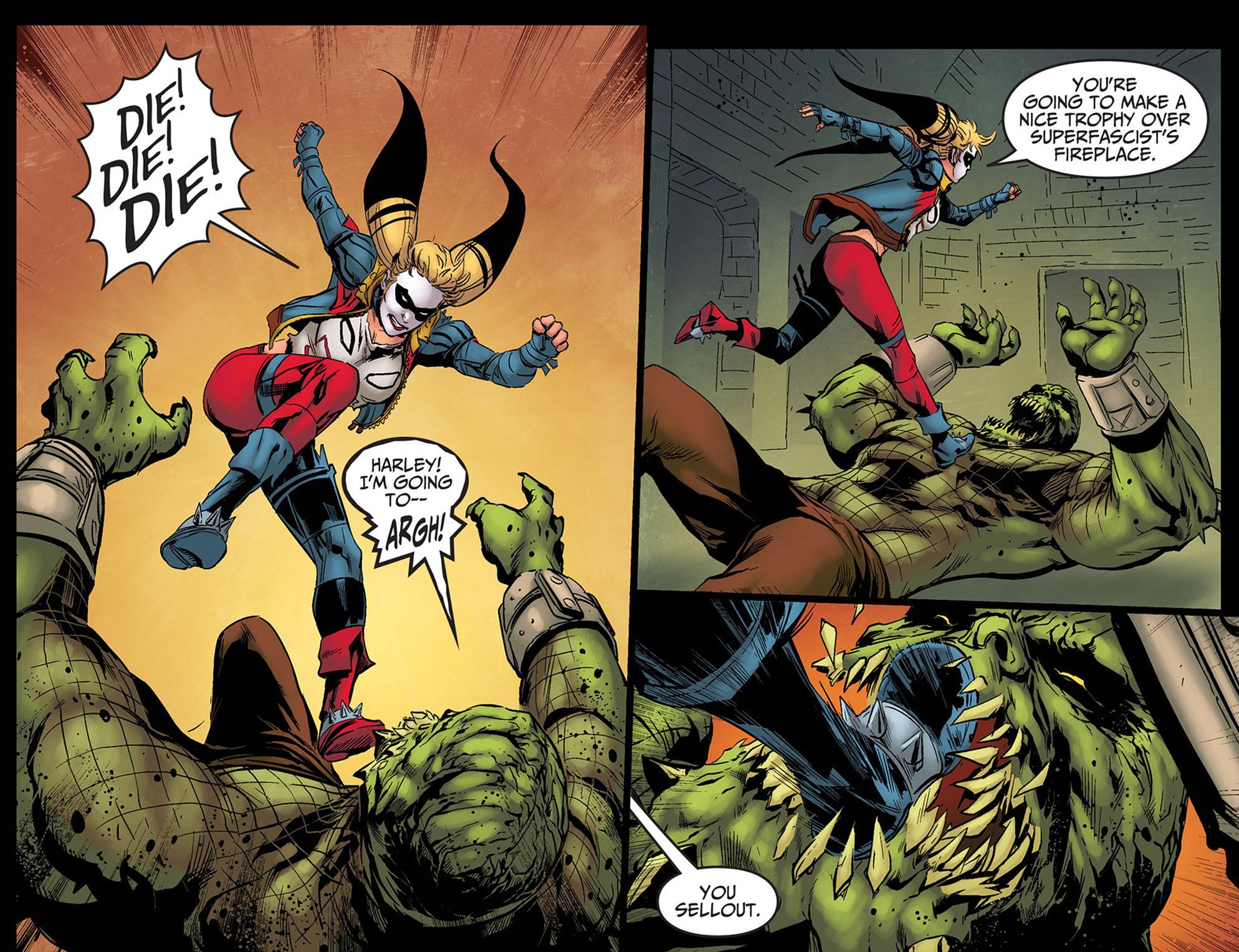 Read online Injustice: Ground Zero comic -  Issue #8 - 16