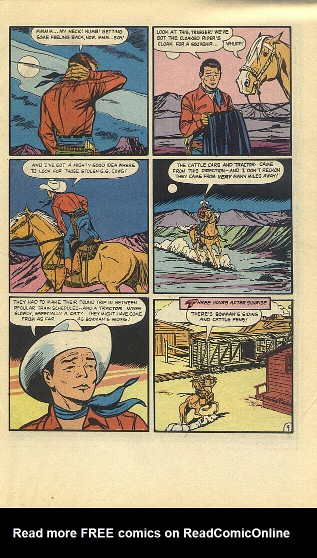 Read online Roy Rogers comic -  Issue #3 - 21