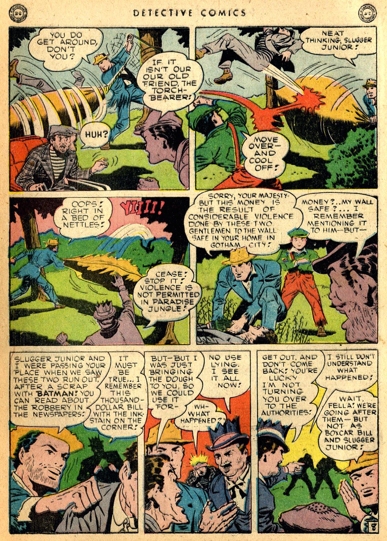 Read online Detective Comics (1937) comic -  Issue #98 - 10