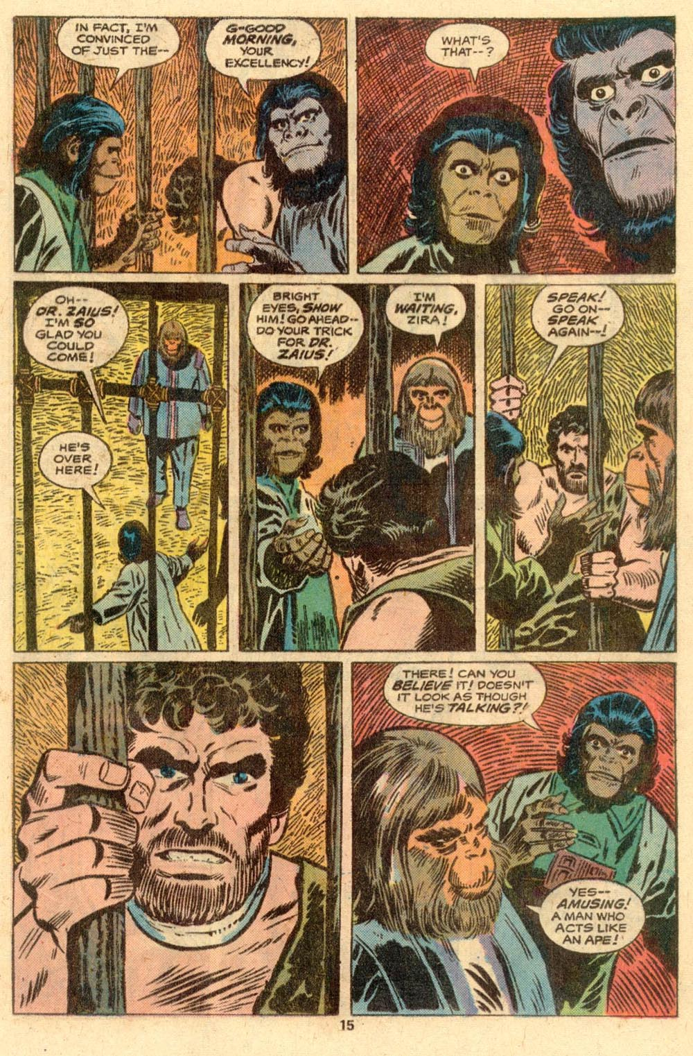 Read online Adventures on the Planet of the Apes comic -  Issue #2 - 10
