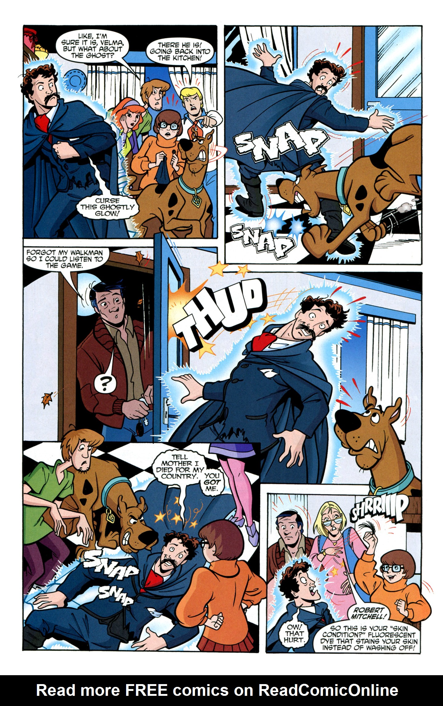 Read online Scooby-Doo: Where Are You? comic -  Issue #24 - 26