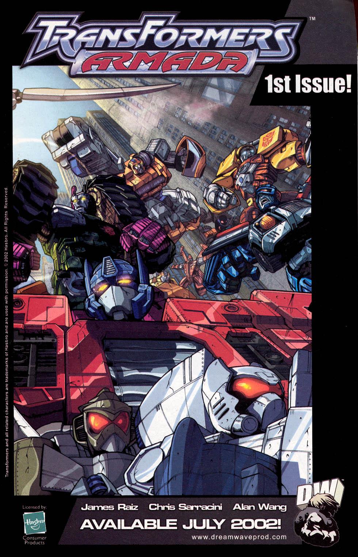 Read online Transformers Armada comic -  Issue #0 - 11