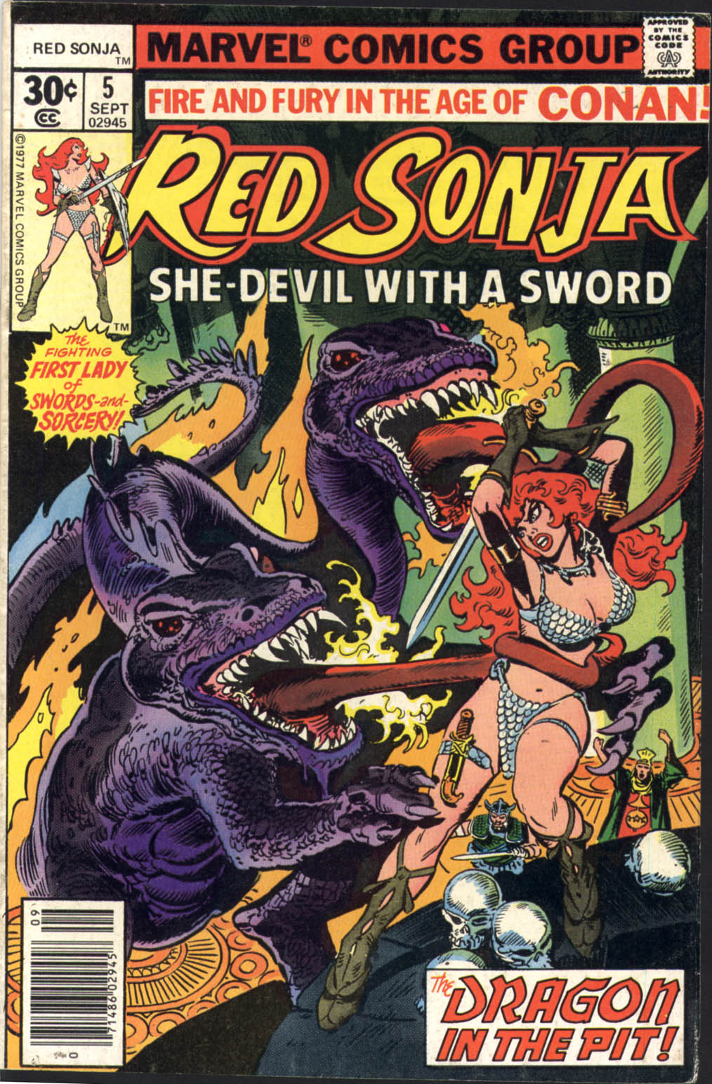 Red Sonja (1977) issue 5 - Page 1