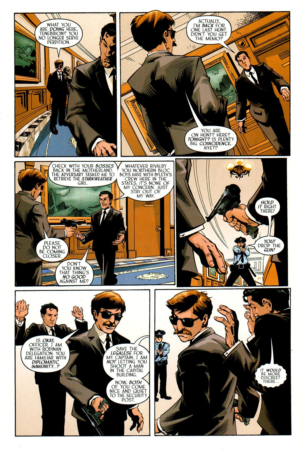 Read online Route 666 comic -  Issue #19 - 14