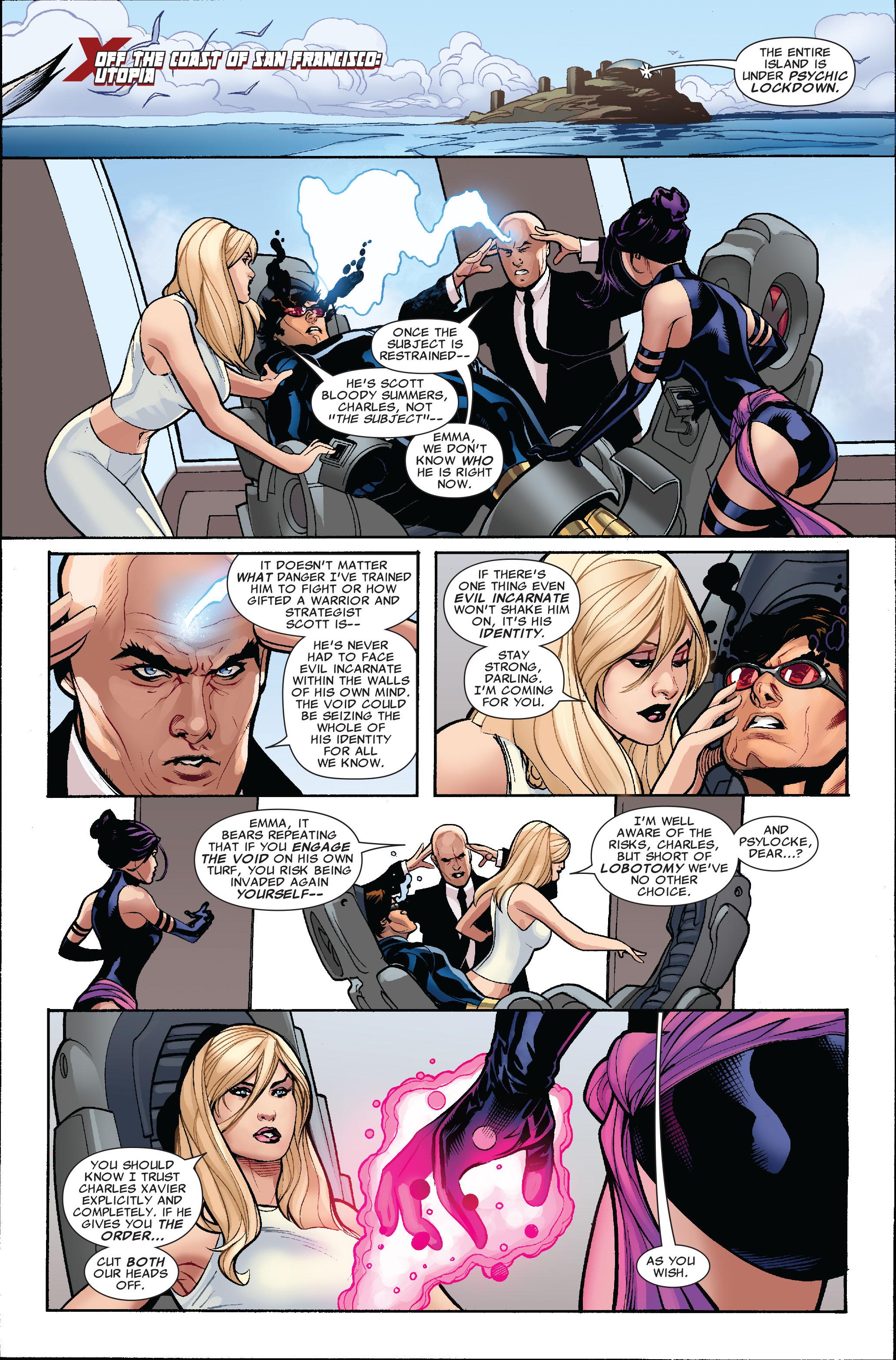 Read online Uncanny X-Men (1963) comic -  Issue #519 - 5