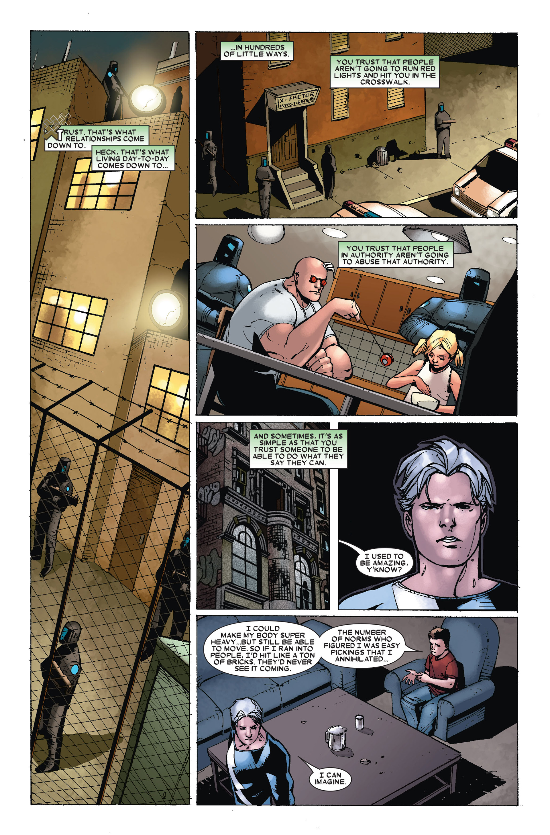 Read online X-Factor (2006) comic -  Issue #18 - 3