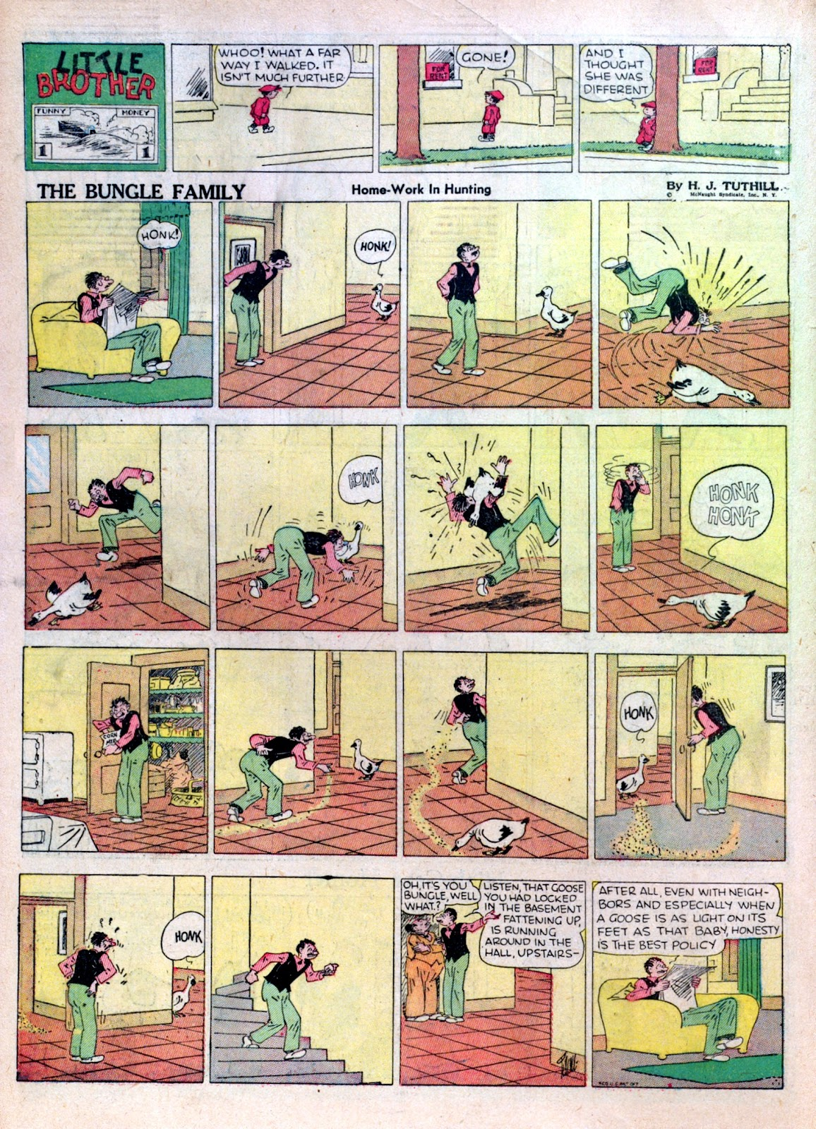 Read online Famous Funnies comic -  Issue #16 - 34