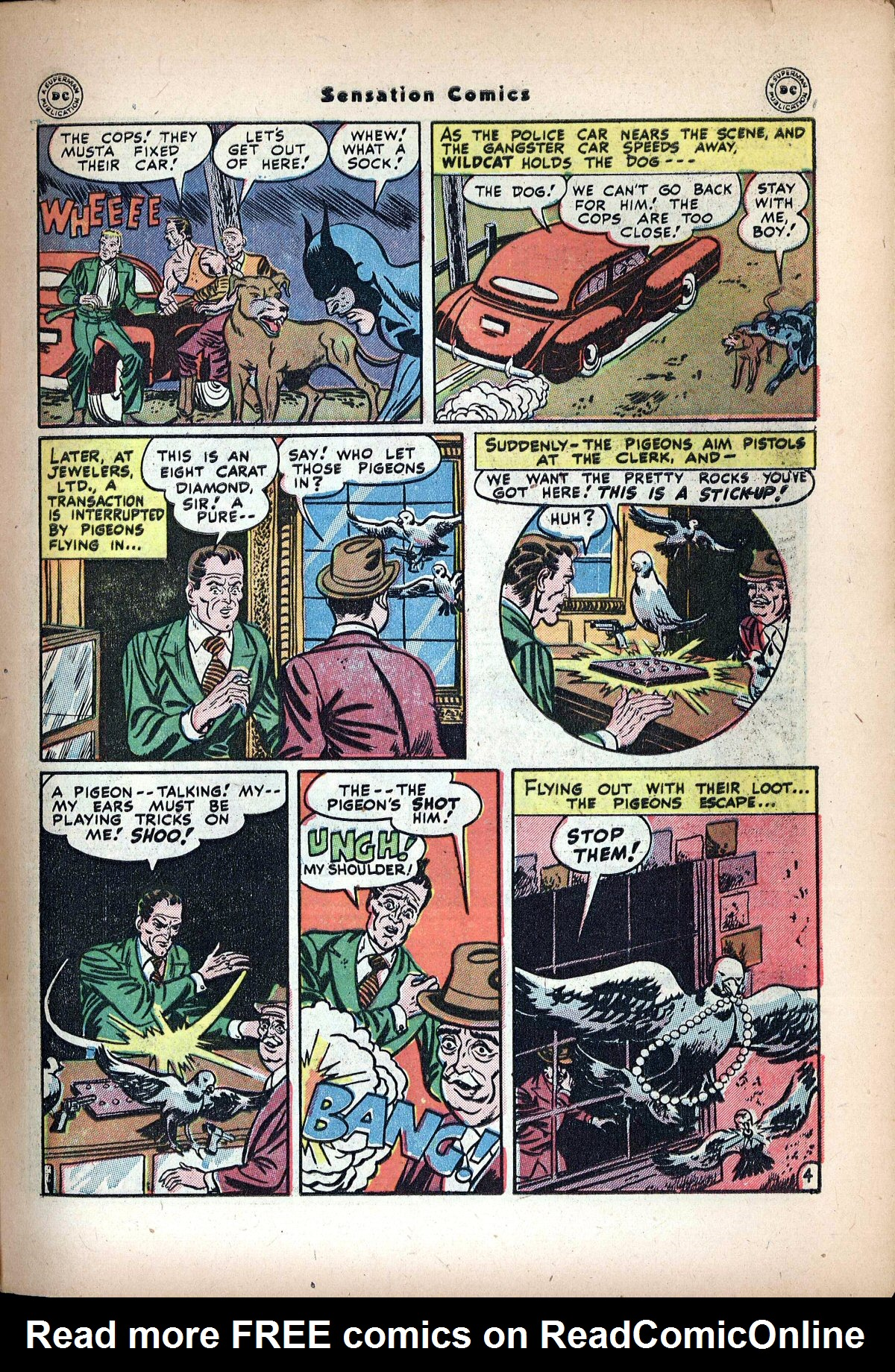 Read online Sensation (Mystery) Comics comic -  Issue #72 - 45