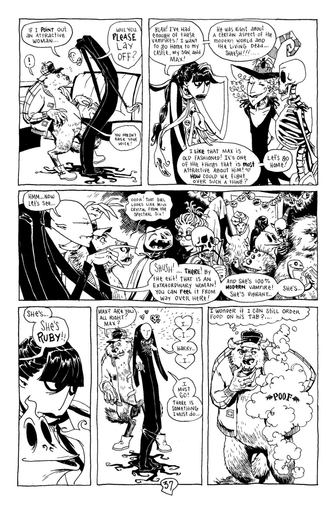 Read online Scary Godmother Comic Book Stories comic -  Issue # TPB - 38